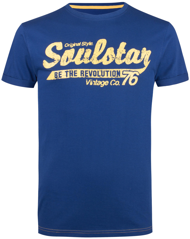 En Soulstar Soulstar Soulstar T shirt Bleu shirt En T Bleu DIYeWE29H