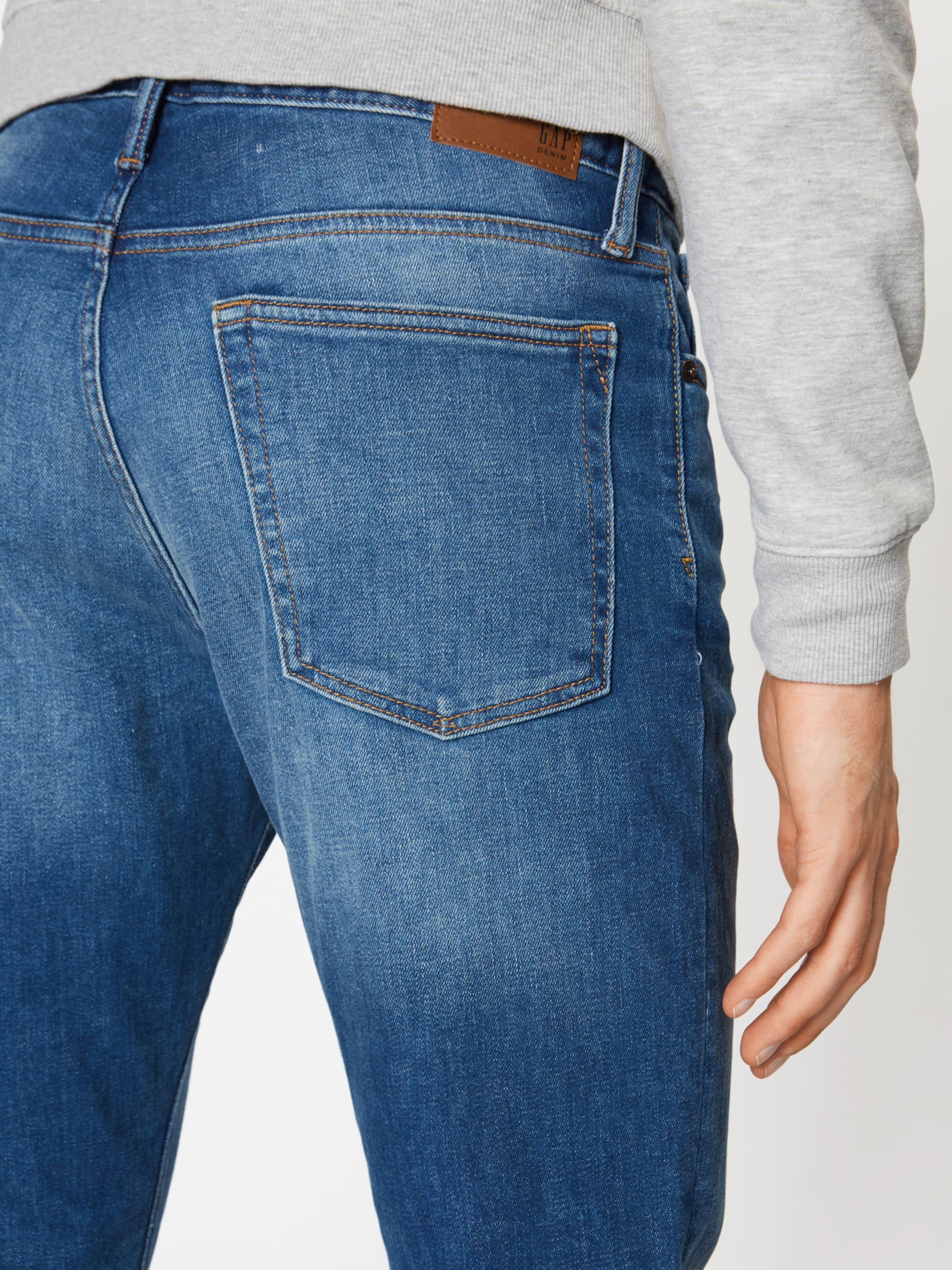 Denim Bright Bleu Straight Gap 'slim Jean Str Medium' En kXZOPiuT