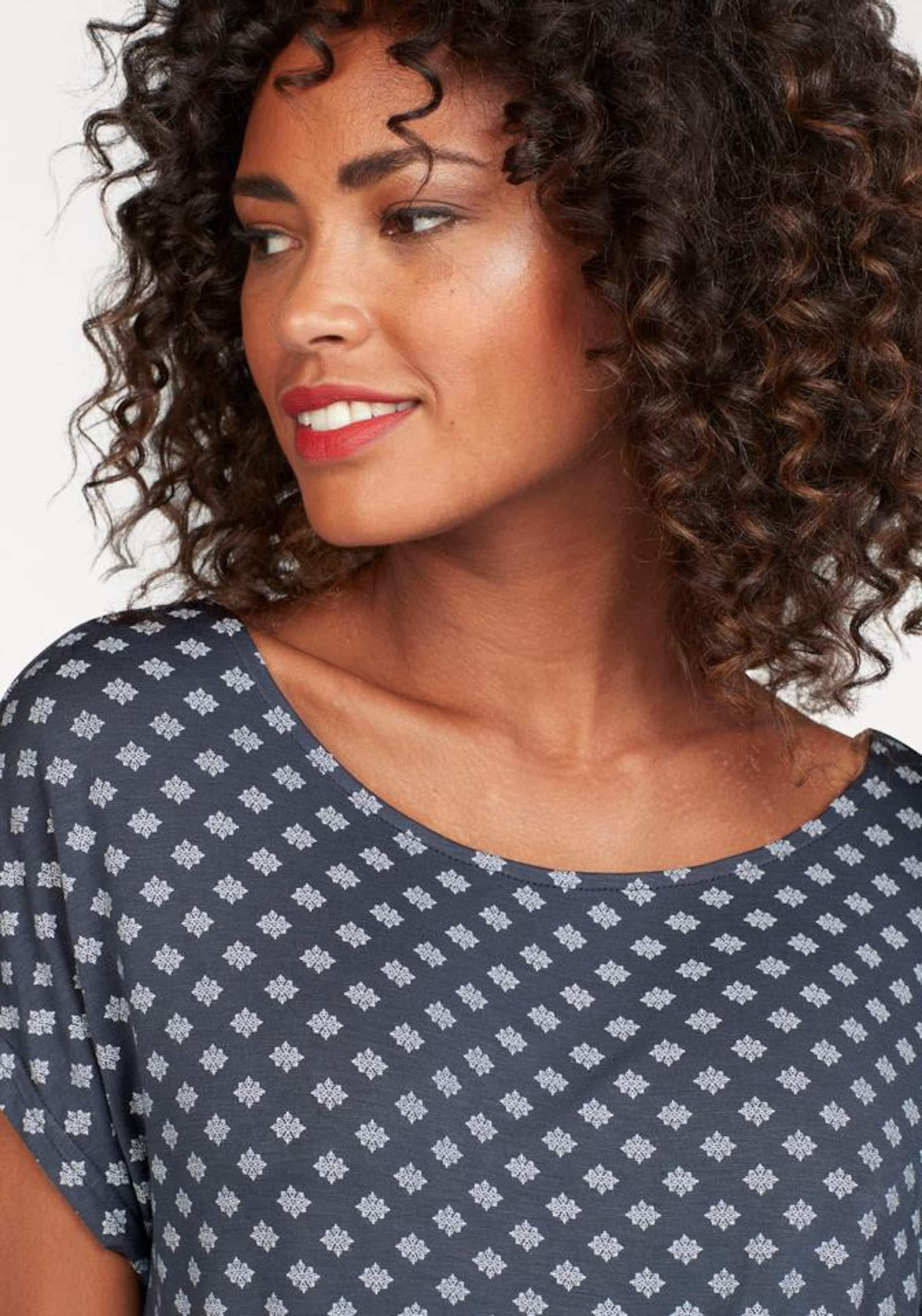 Lascana T En T shirt En MarronBlanc MarronBlanc shirt Lascana 7fgmbyvI6Y