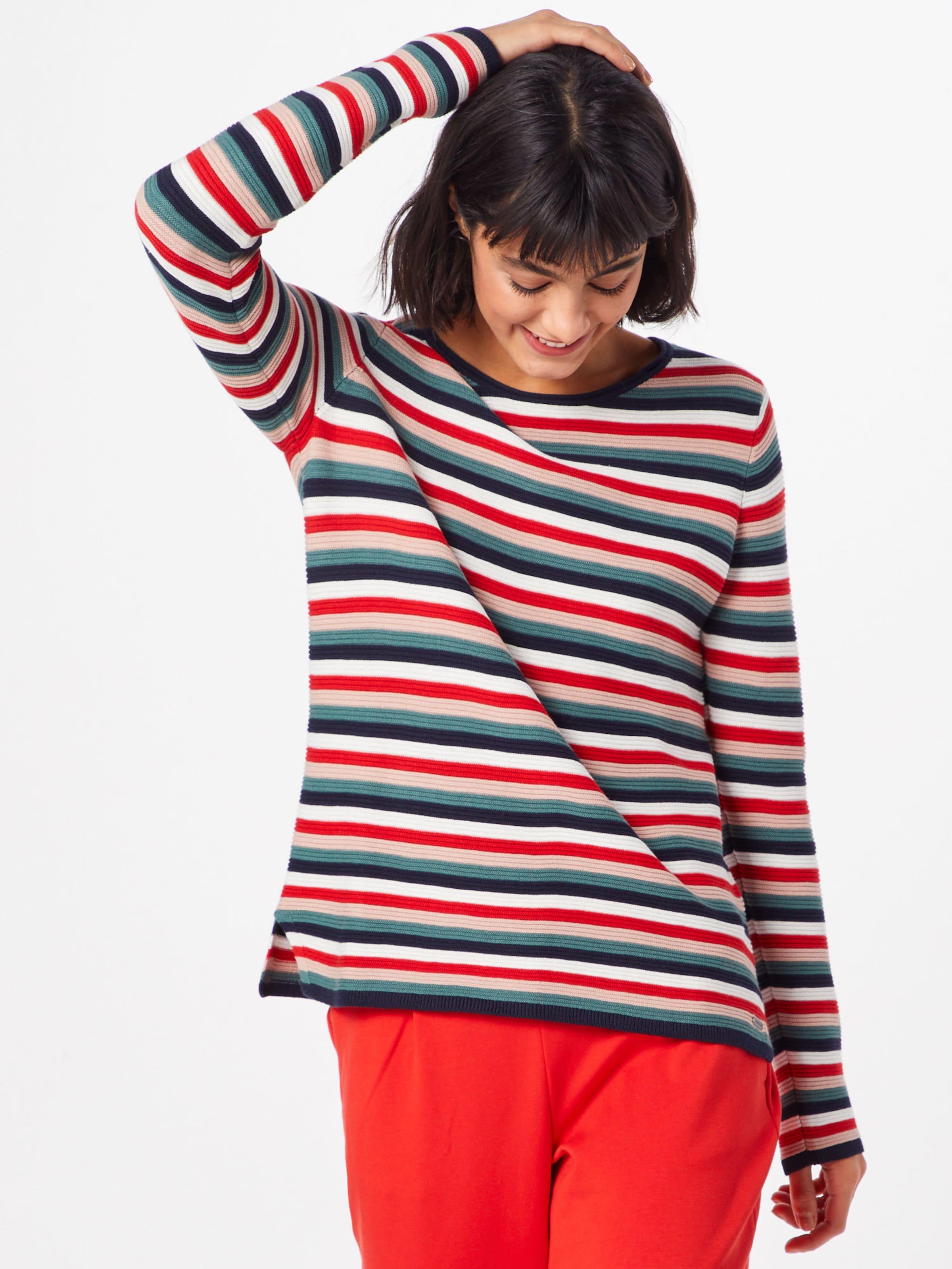 NudeBlau Petrol Sweater 'ottomane' Tailor Rot Wei Tom In 1c3FTlKJ