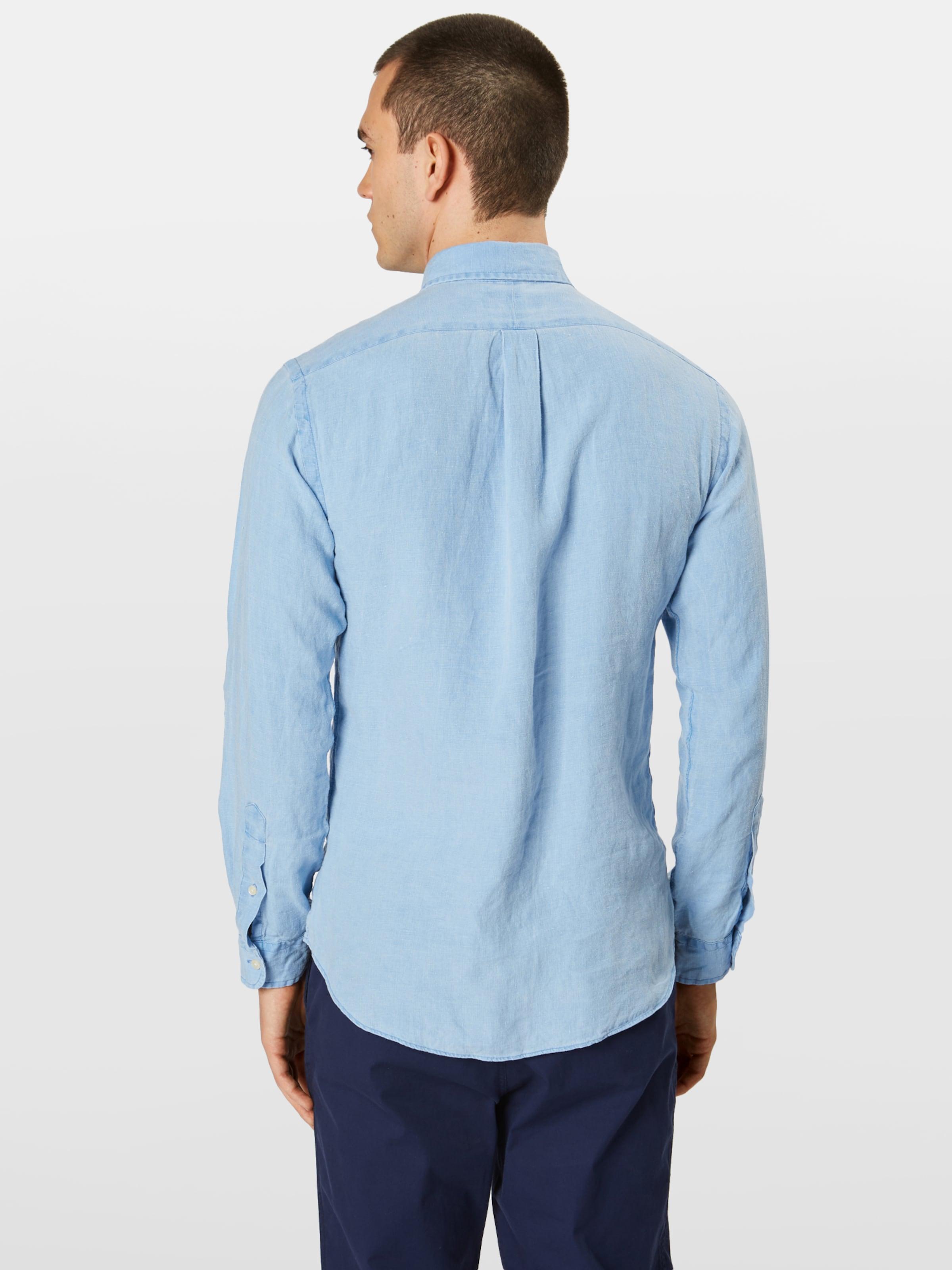 long Polo sport Bd 'sl Lauren Ppc Sleeve Shirt' Rouge Chemise Ralph En Sp orBWQdxeC