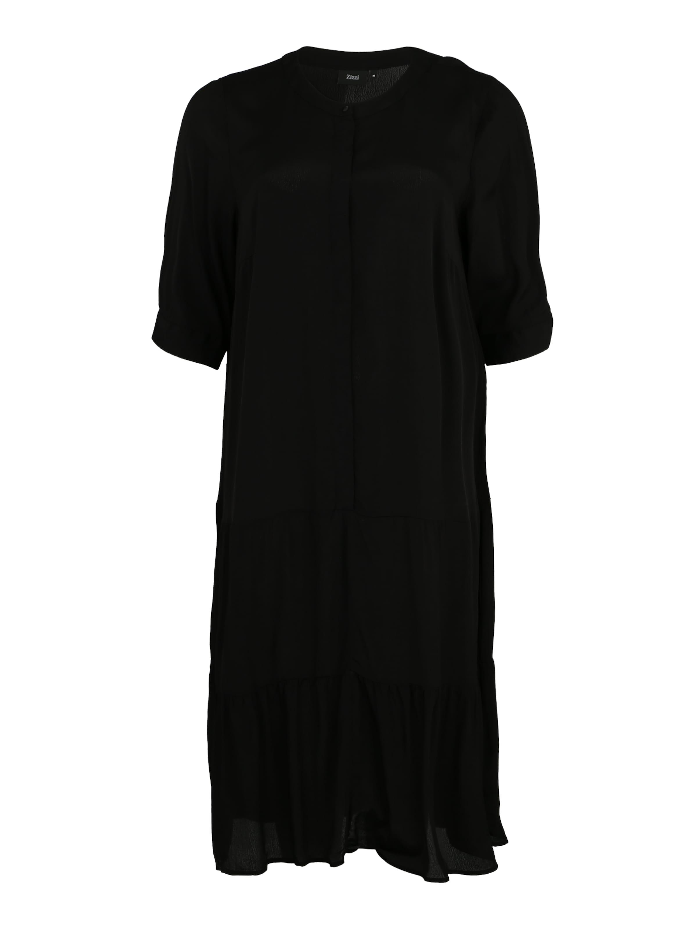 Zizzi chemise Noir 'dasy' Robe En m8nNwOv0