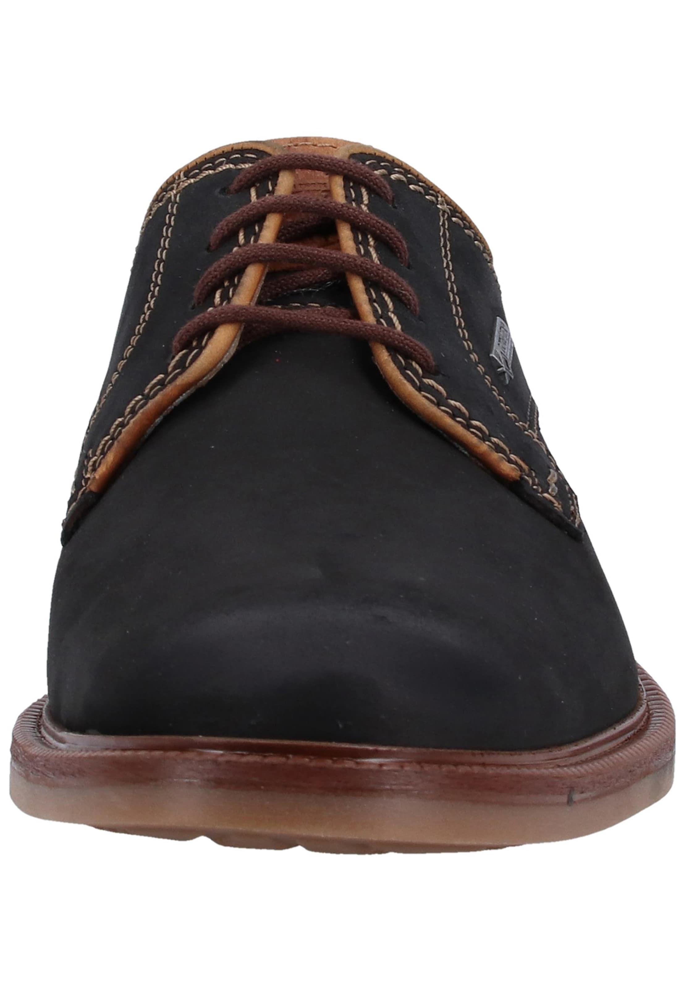 Chaussure Men À Lacets Noir Fretz En LcS54Rjq3A