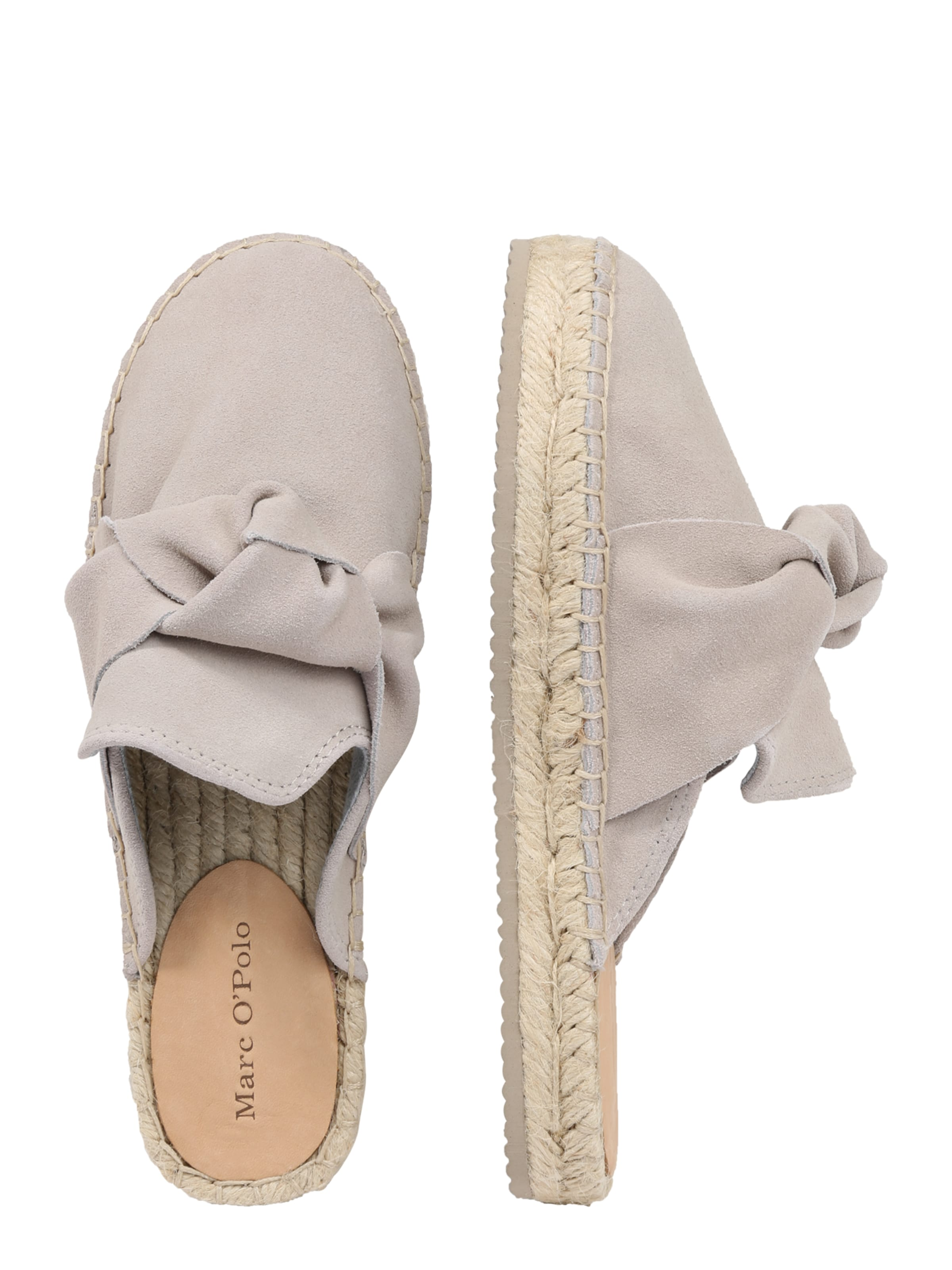 'cow Suede' Mule Taupe Marc O'polo En O8nkX0wP