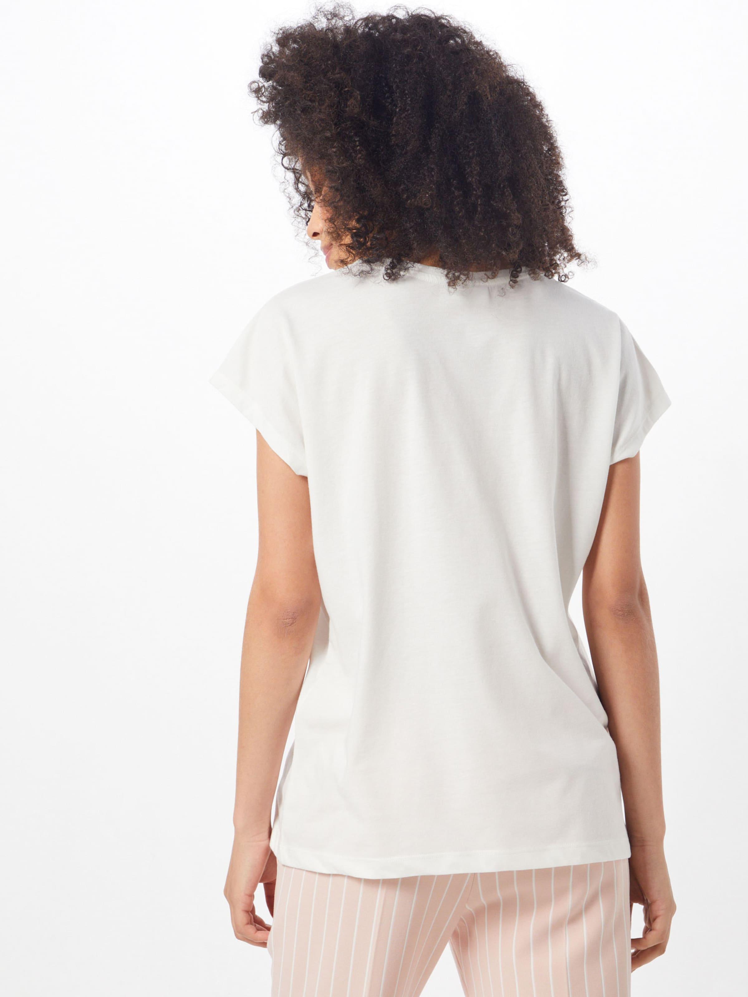 En 'vitta' Blanc T shirt Vila wOkP8n0X