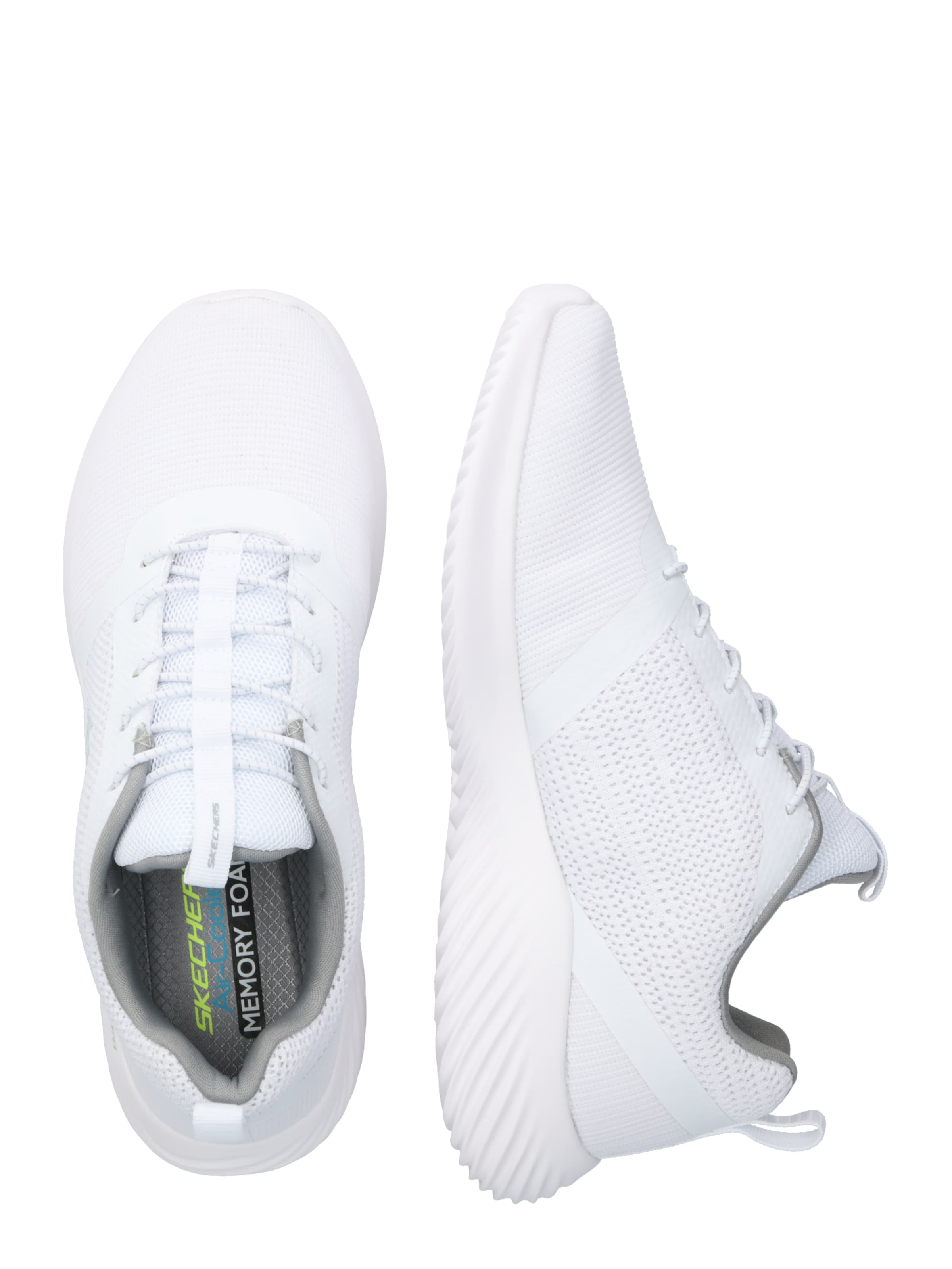 En Blanc Baskets Basses Skechers Skechers lFTcJ3uK1