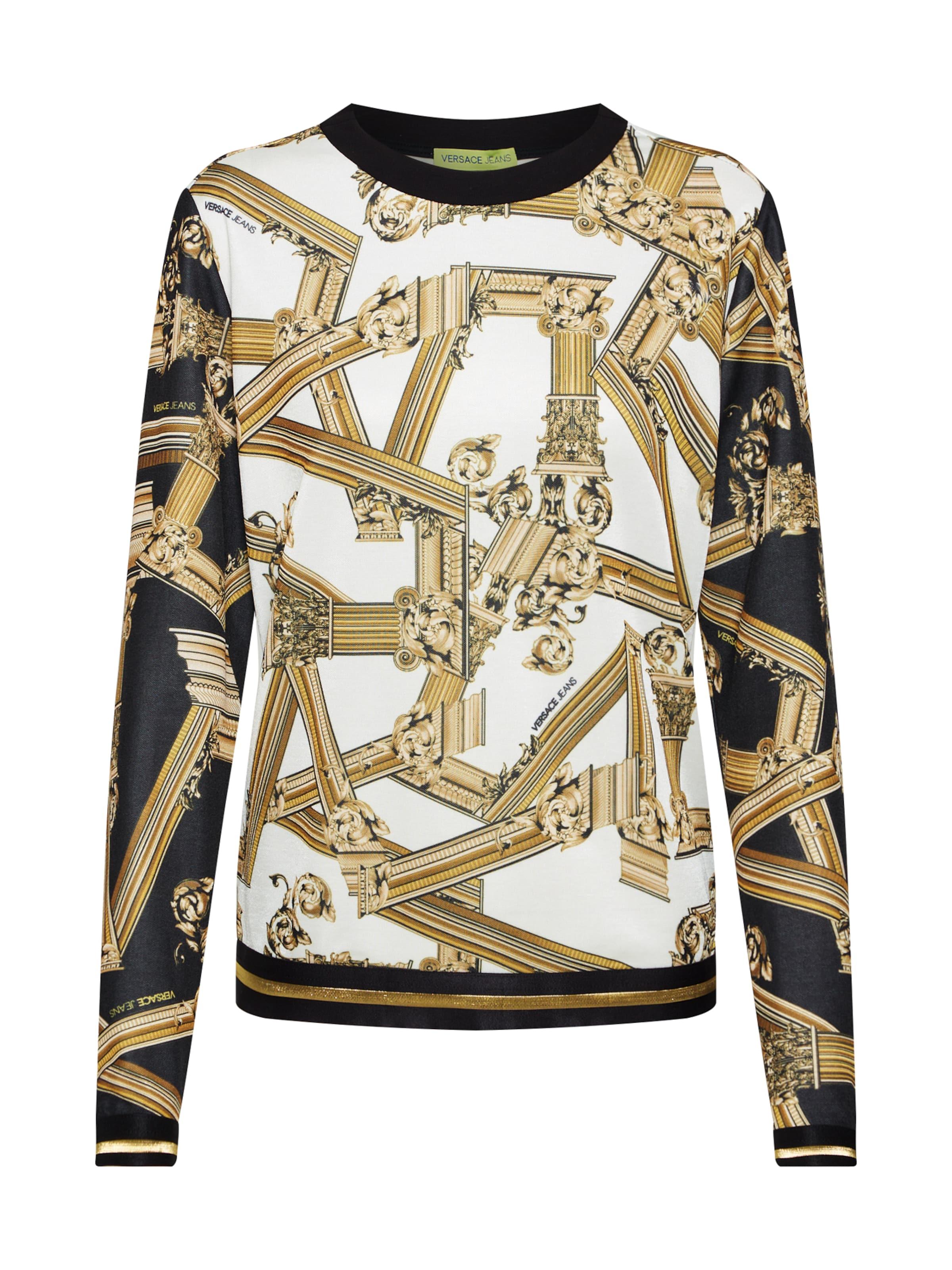 shirt Mélange 'tdm309 Versace Jeans Print' Couleurs Sweat De En QrdxshtC