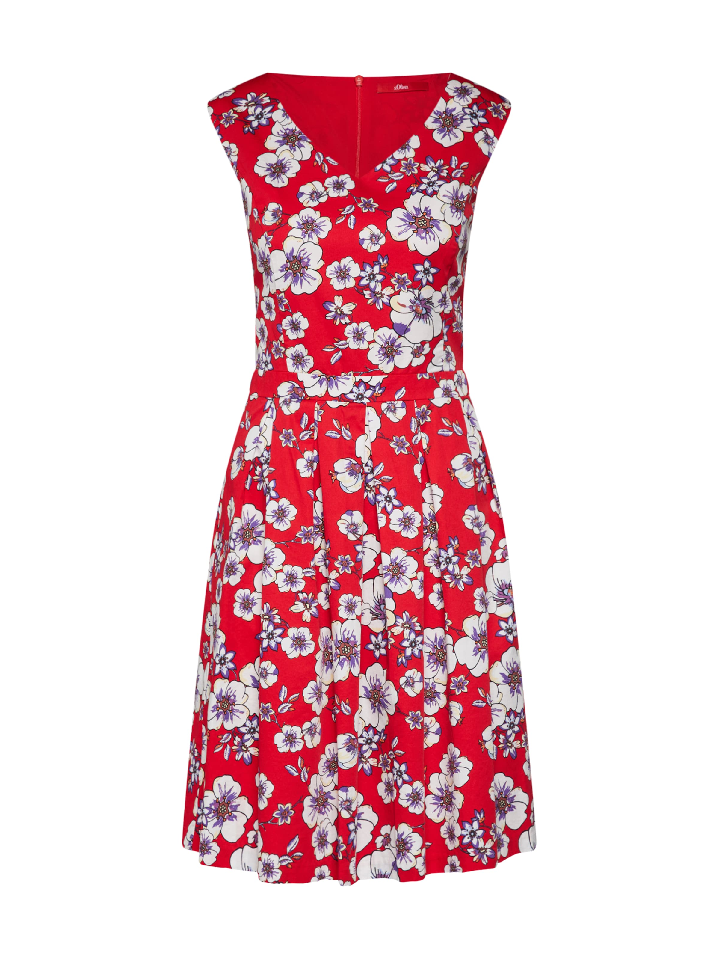 Label S Red Kleid oliver In MischfarbenRot TlcKF13J