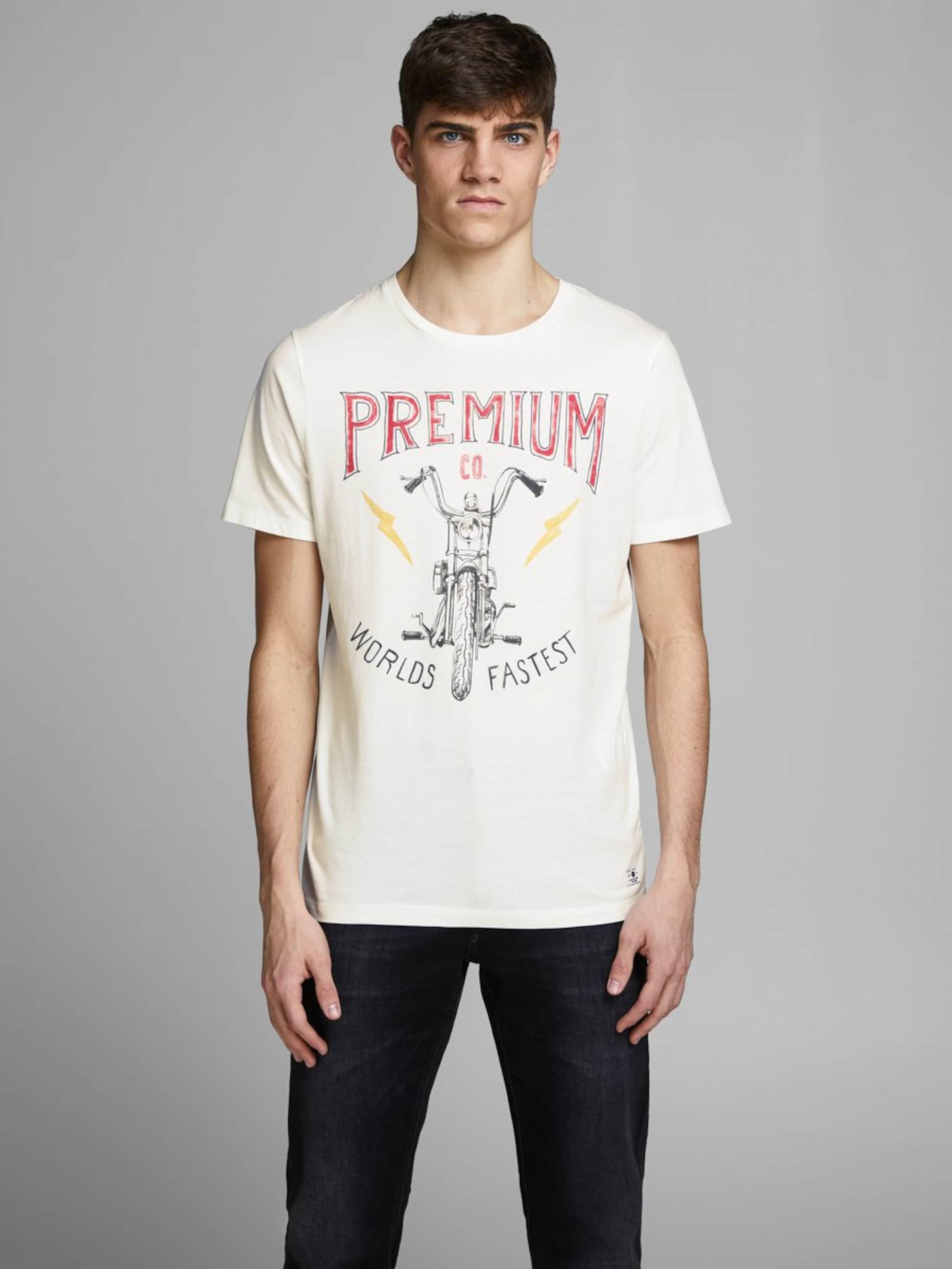 Jones Jackamp; CrèmeBleu shirt T Foncé En 76yIbgYmfv