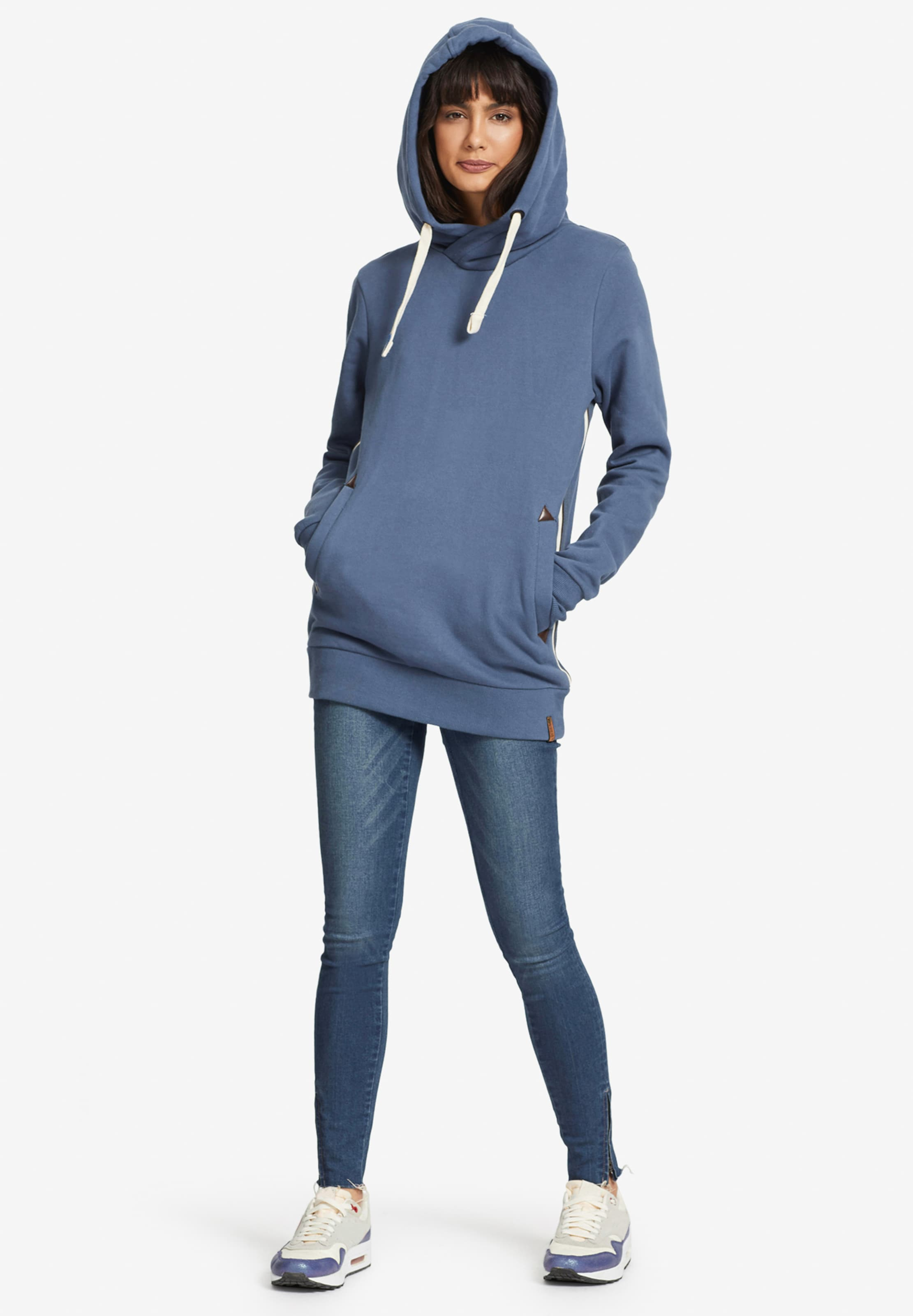 shirt En 'ulyssa' MarronCorail Sweat Blanc Khujo shdtQrCBx