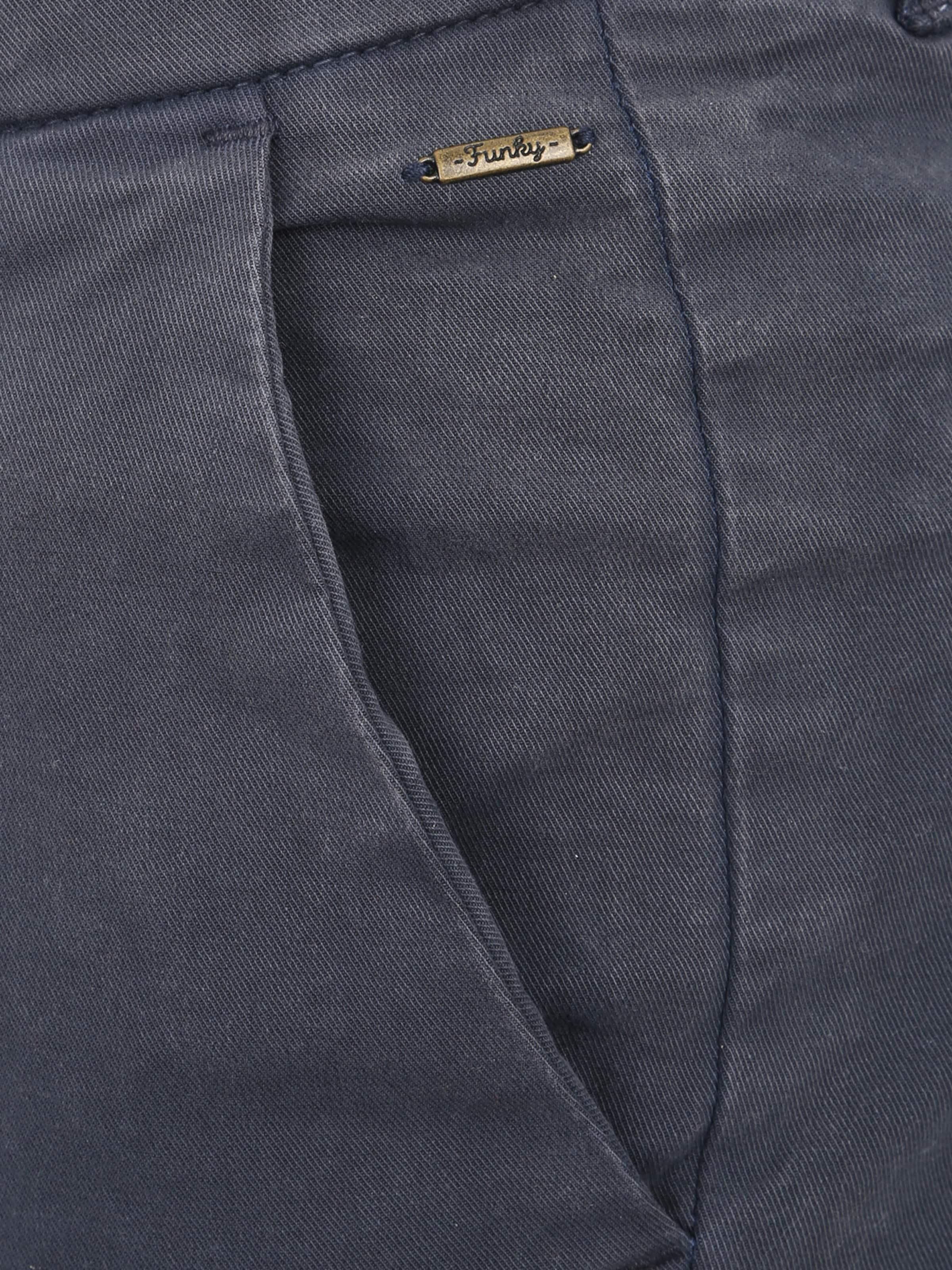 Bleu En Buddha Chino Funky Pantalon Marine m08wvNn
