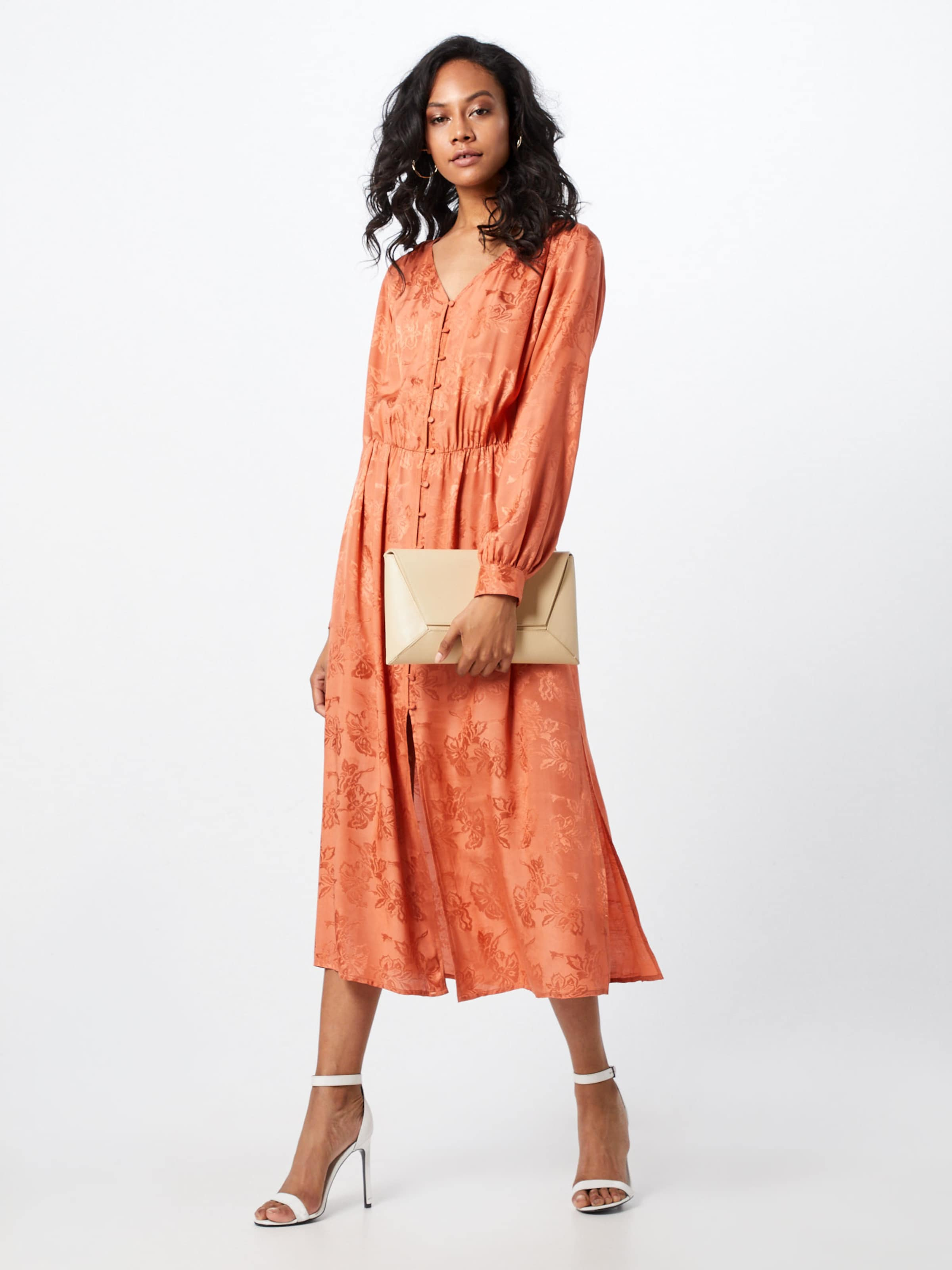 D'été Long En Orange 'tia Dress' Sparkz Robe pMVSqzU