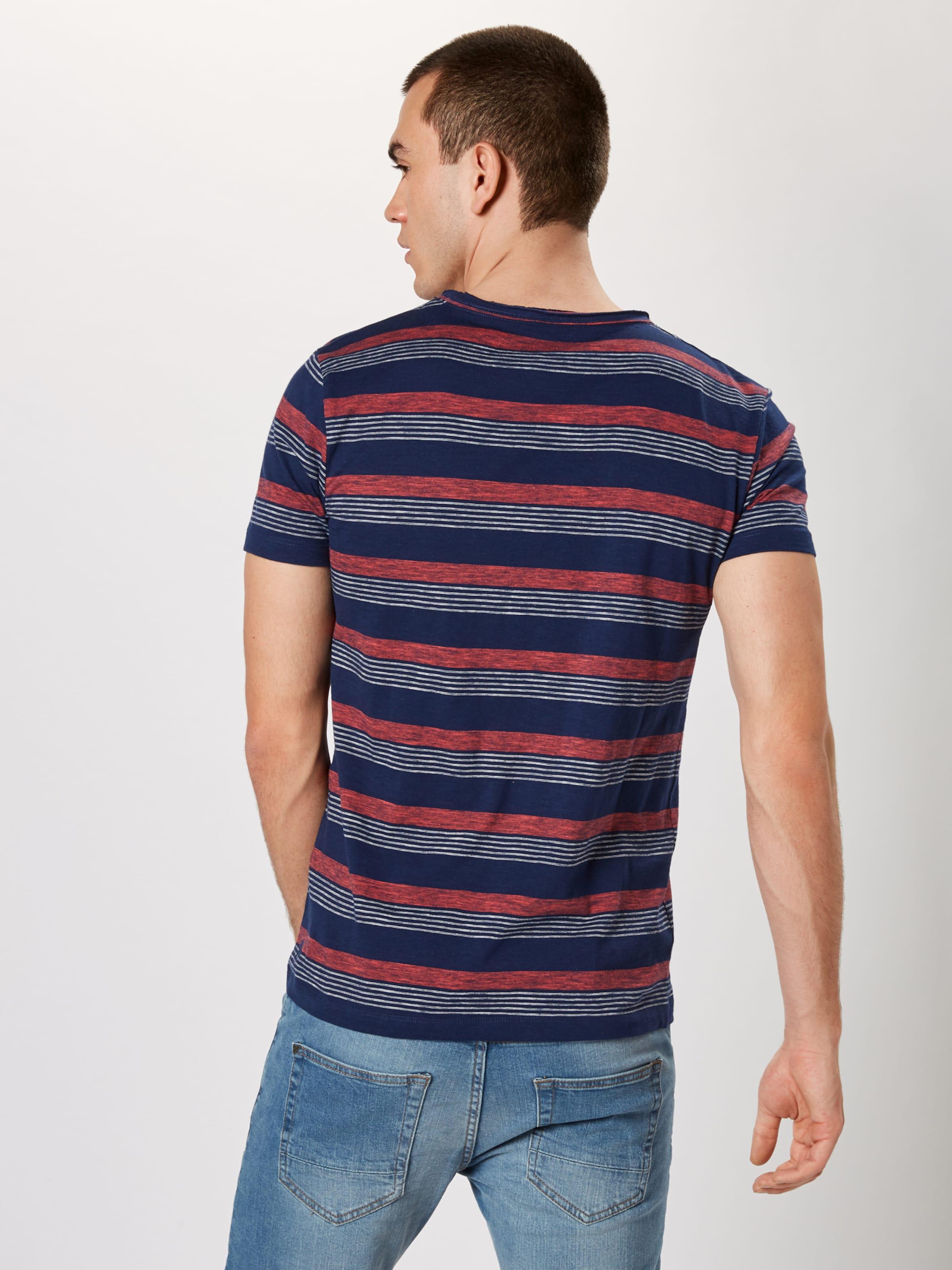 Tom T Clair En shirt Bleu MarineRouge Denim Tailor 76fygb