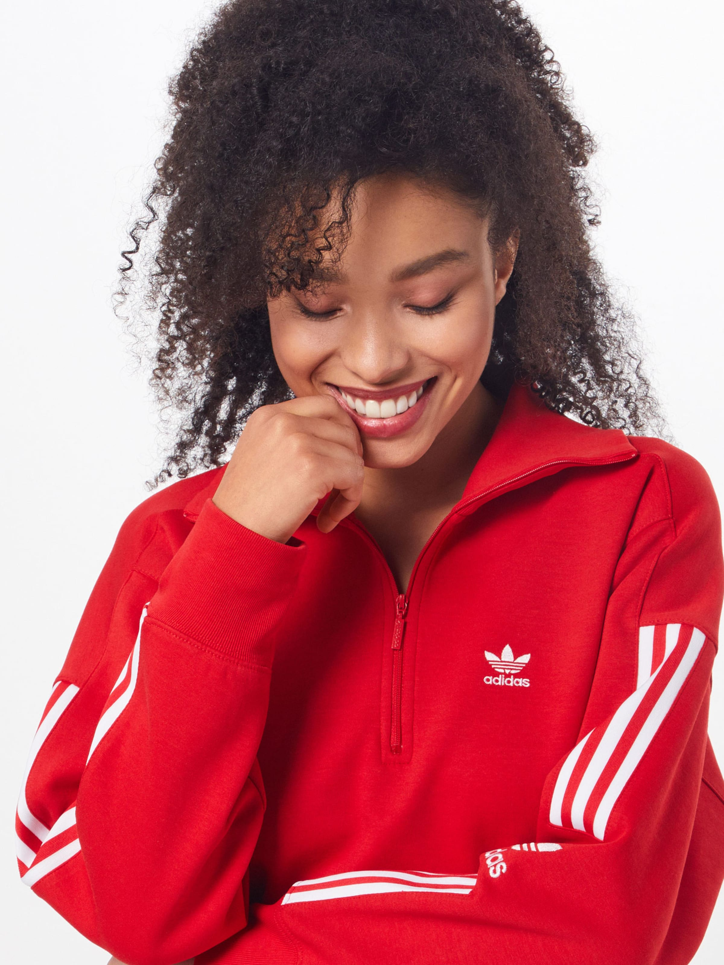 Adidas Sweat Rouge En Originals shirt ClairBlanc 5qSc3RAjL4