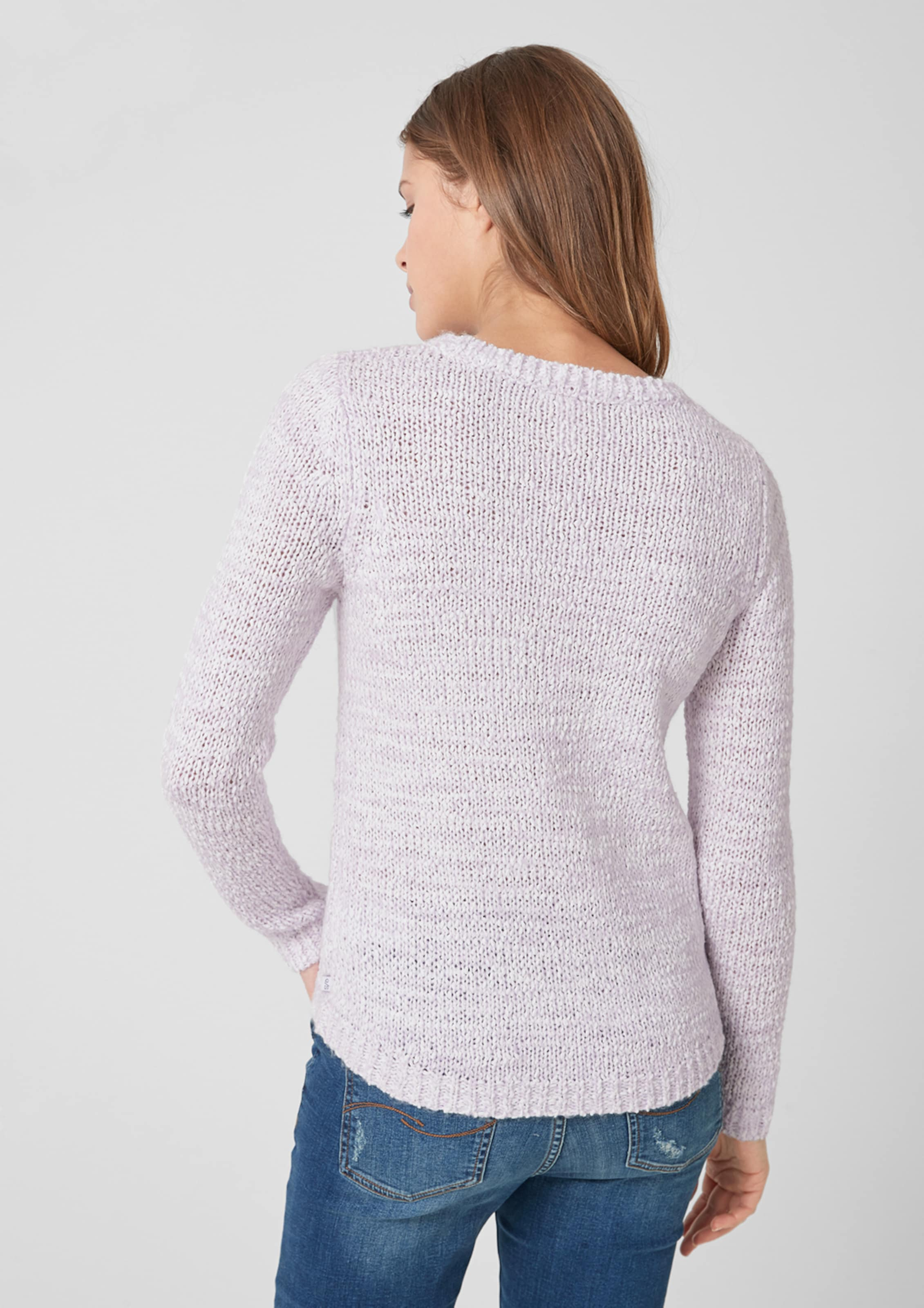 In Q Strickpullover By s Designed Pastelllila 4RjL3q5A