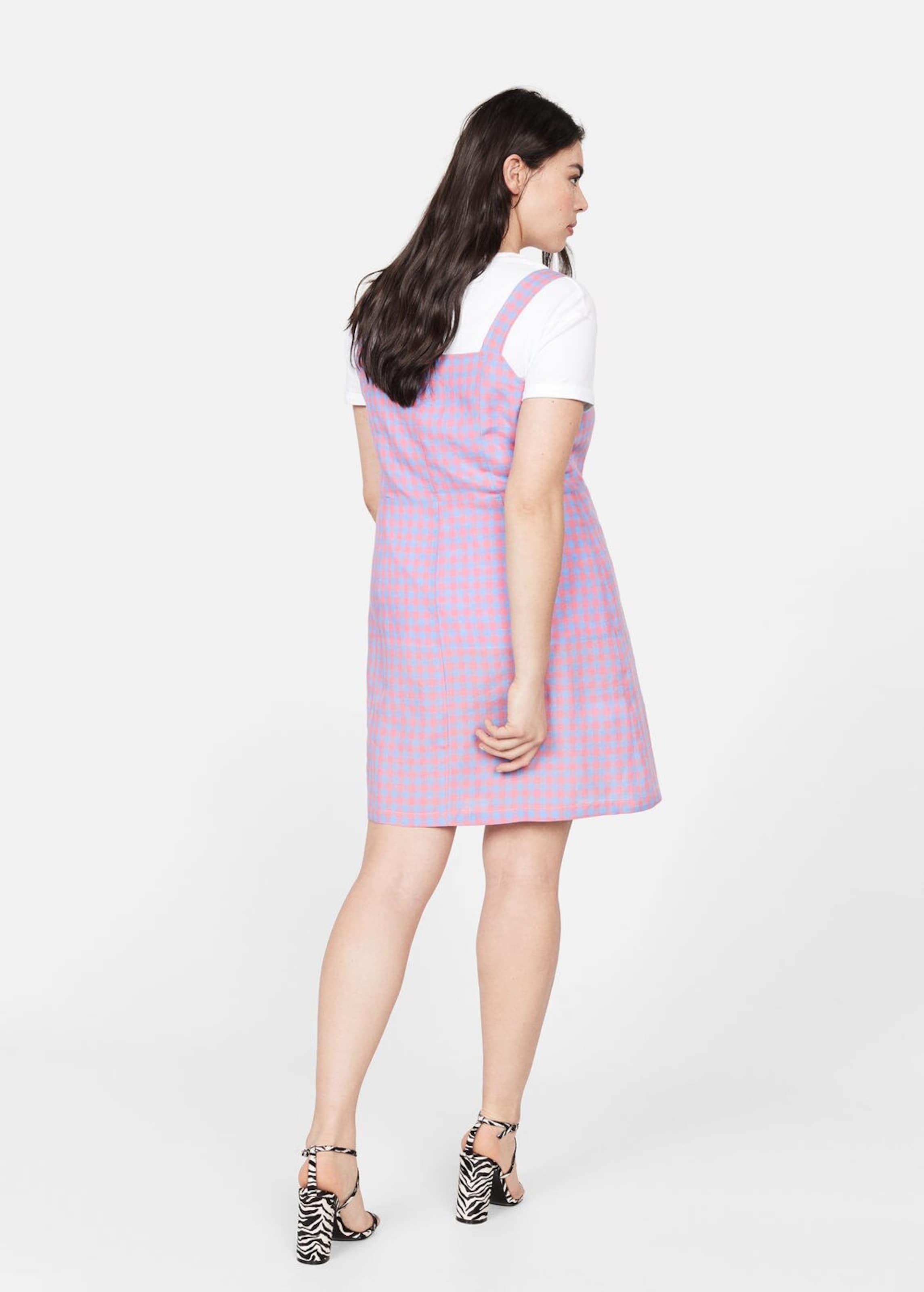 HellblauRosa Mango Violeta By Kleid In SzVqLUpGM