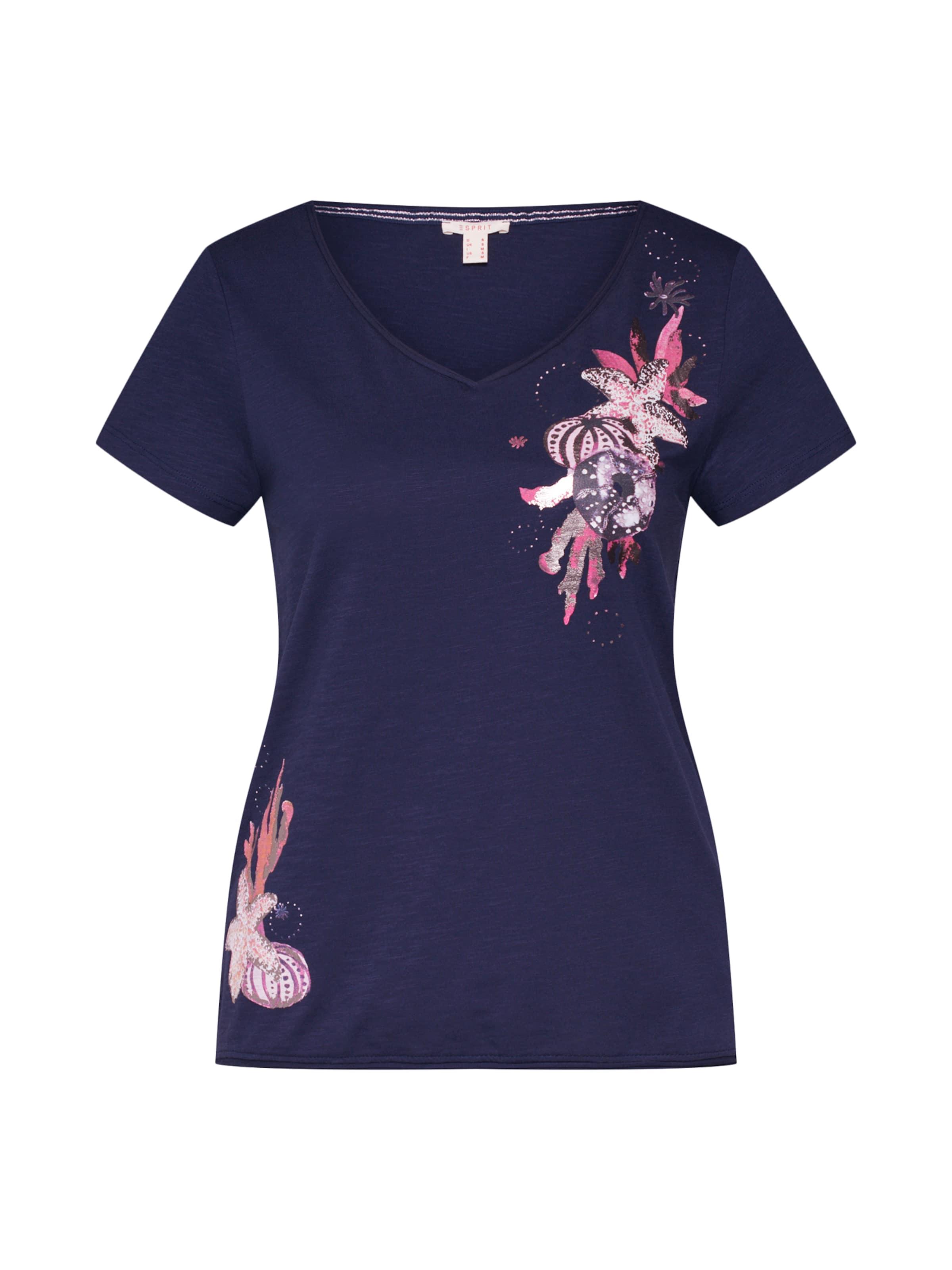 Esprit Print T Tee' shirt En 'aw Rose OiXZuPk