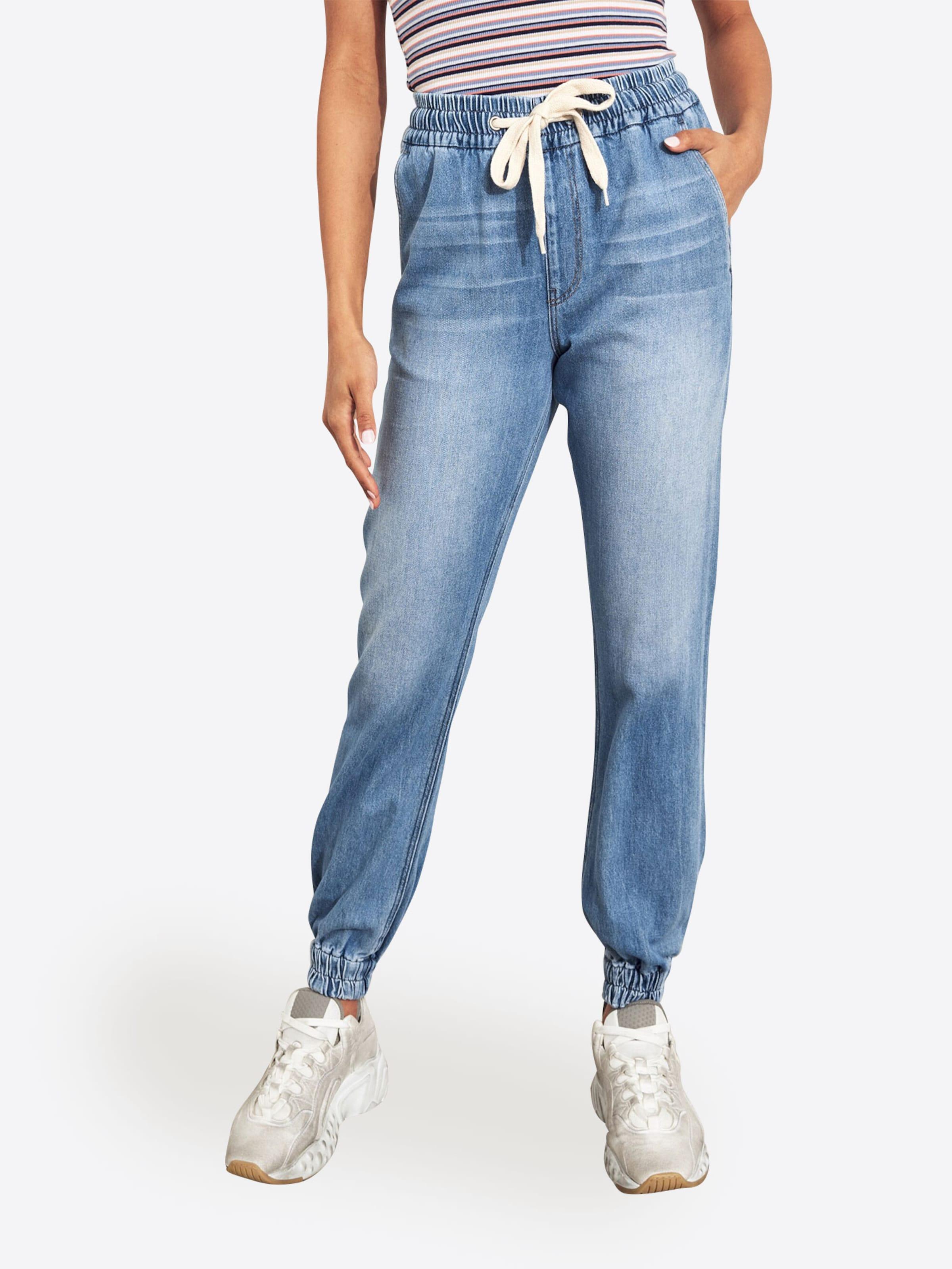Bleu Pantalon Bleu Pantalon En Denim Hollister Hollister En WH29EDI