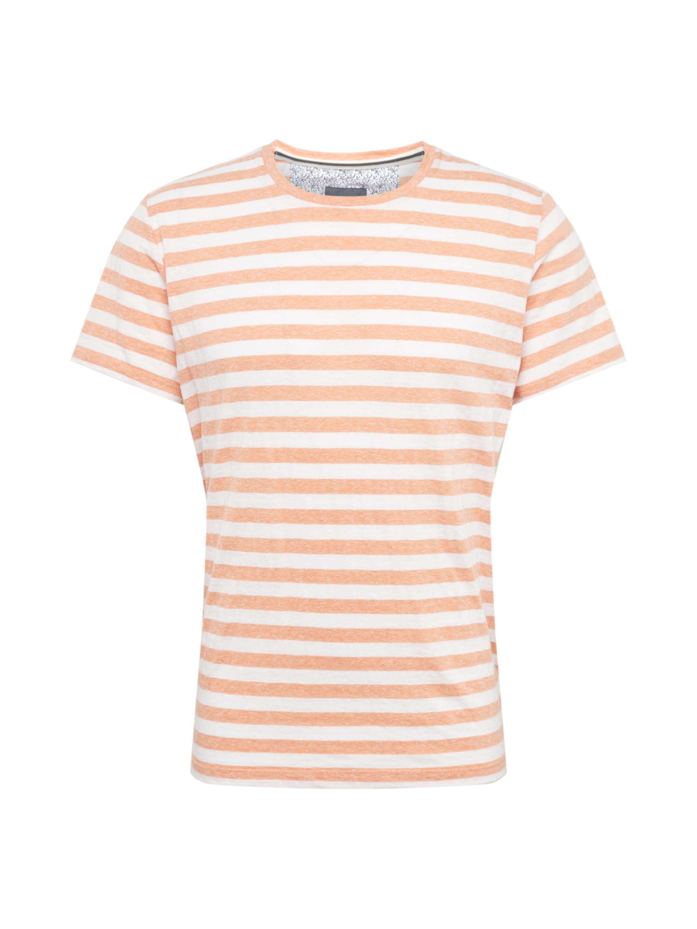 Red Label S T Orange shirt ChinéBlanc En oliver IDH9W2E