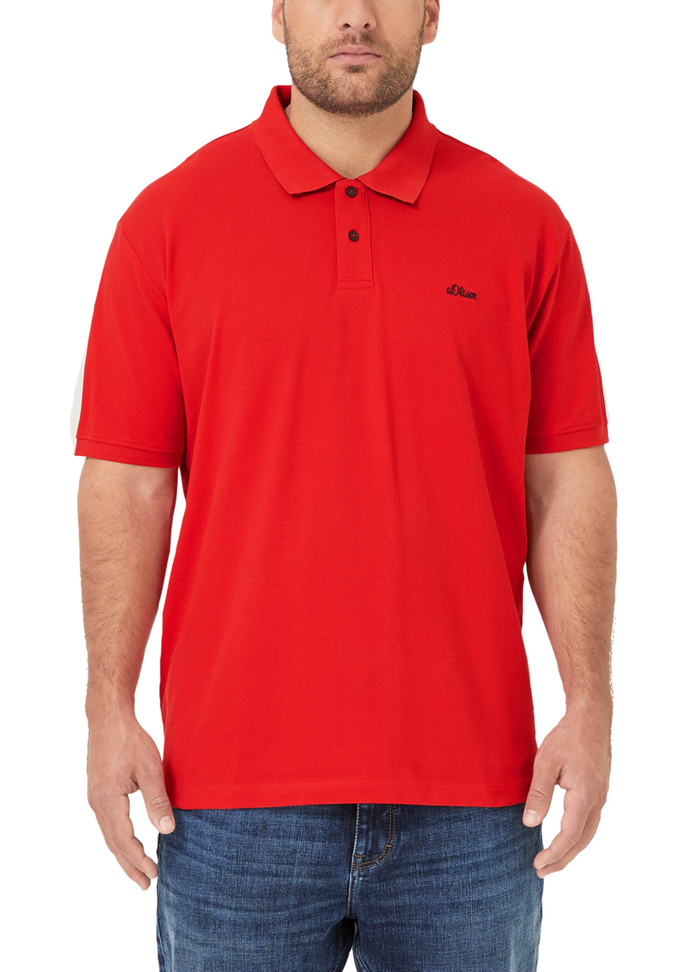 Red In Hellrot Poloshirt S Label oliver WBxrdCeo