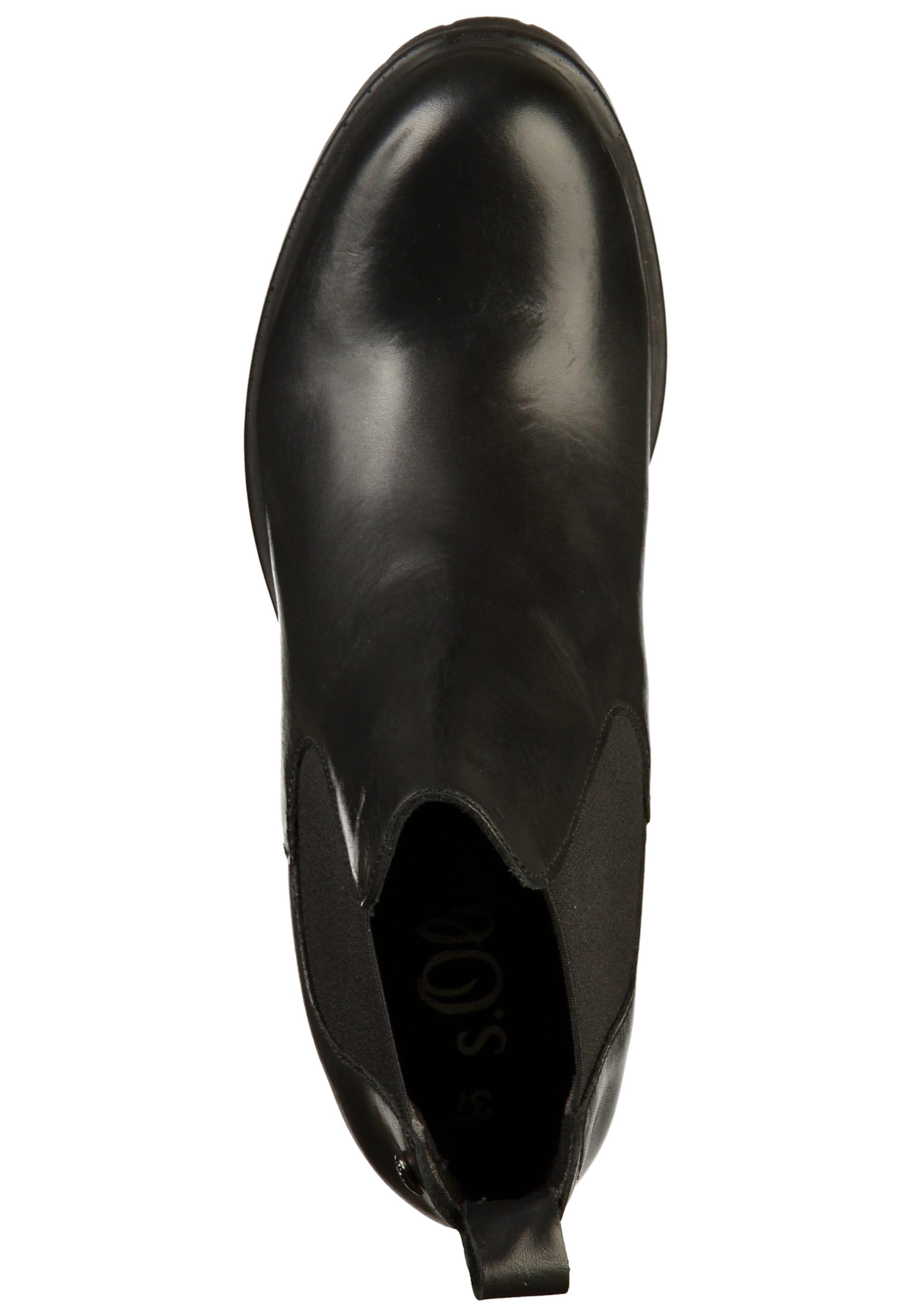 S Chelsea Red En oliver Boots Noir Label rxoedCB