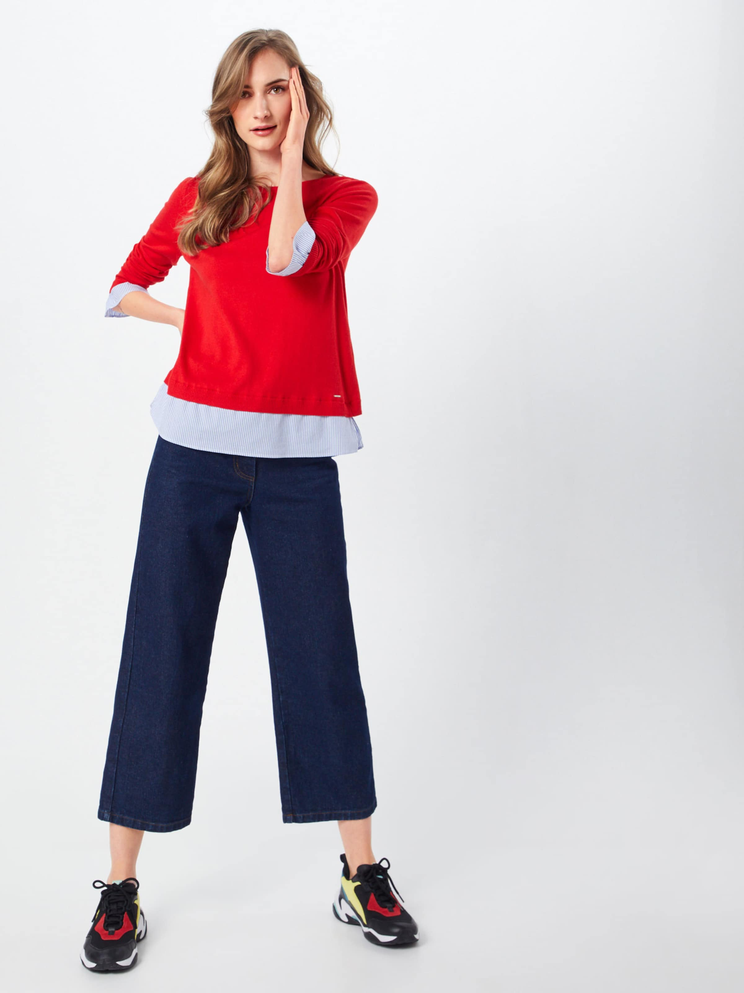 Label Red oliver S HellblauRot Pullover In 4RAq3j5L