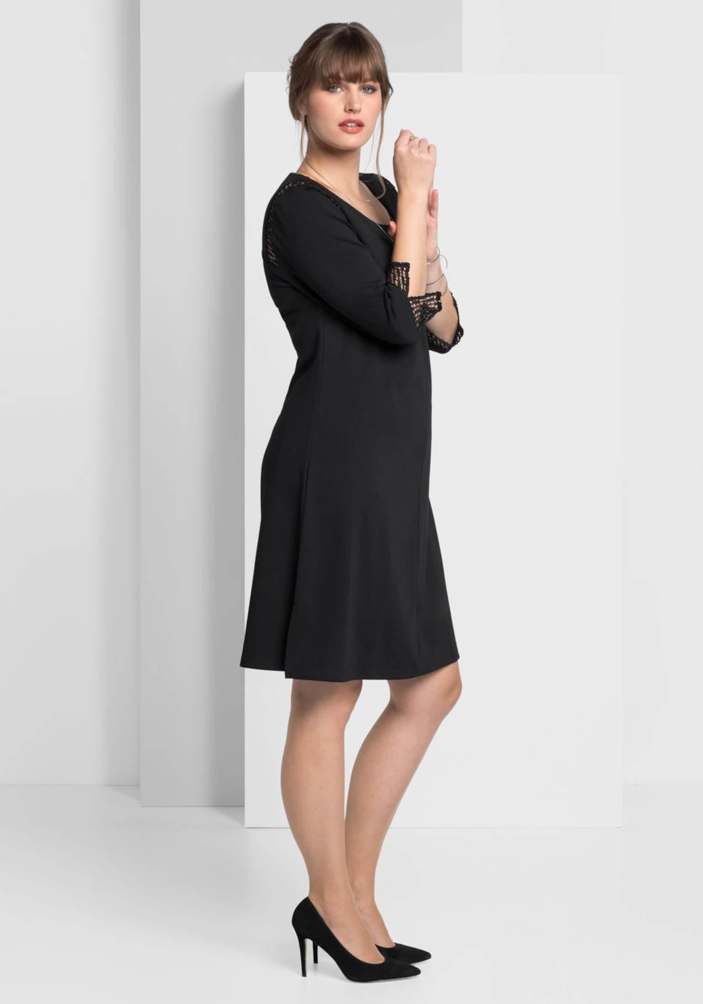 Sheego Schwarz In Style Kleid Sheego Style Kleid vOmN08nw