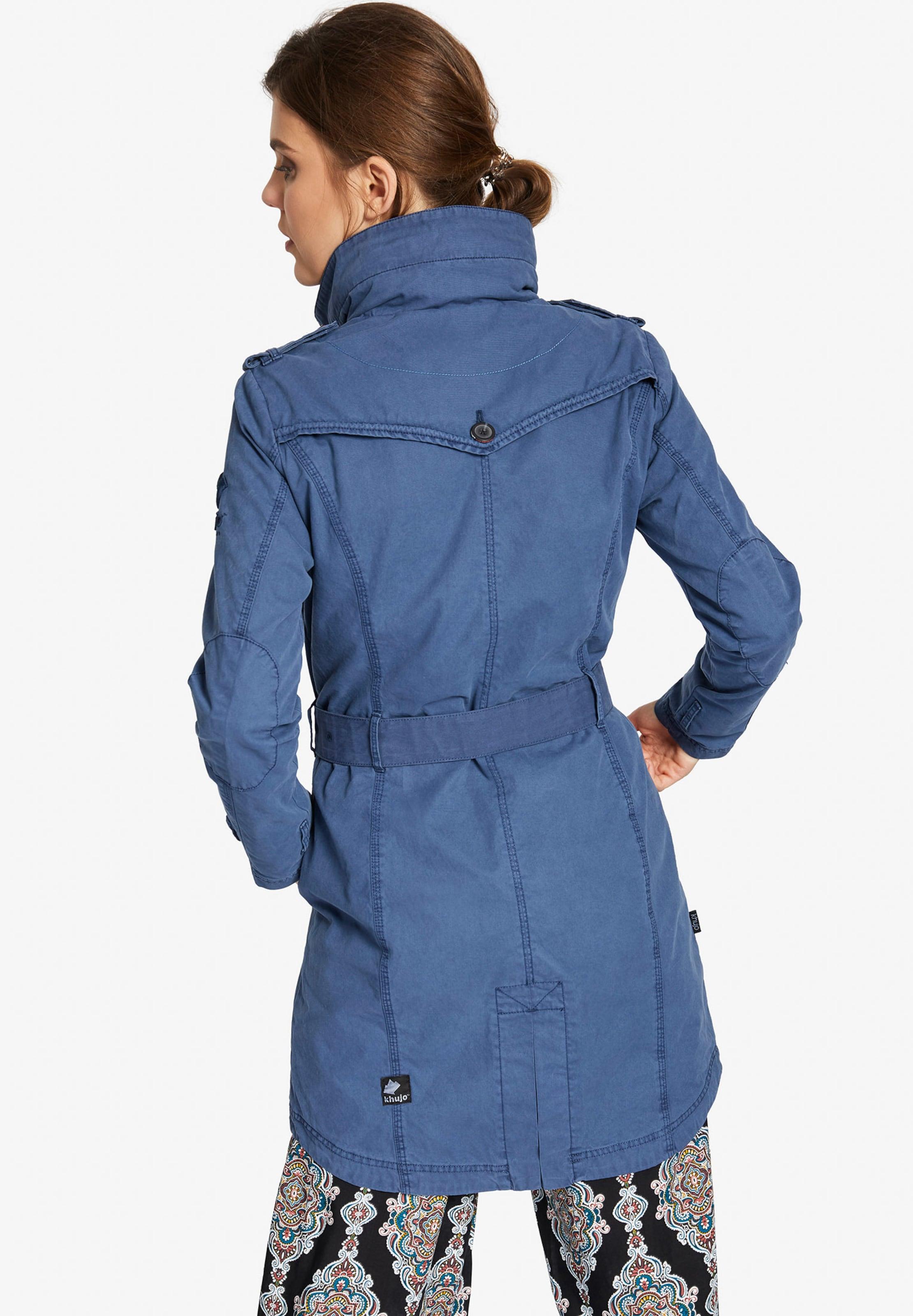 Menna Blue DenimWei Mantel ' Khujo In PiZkXu