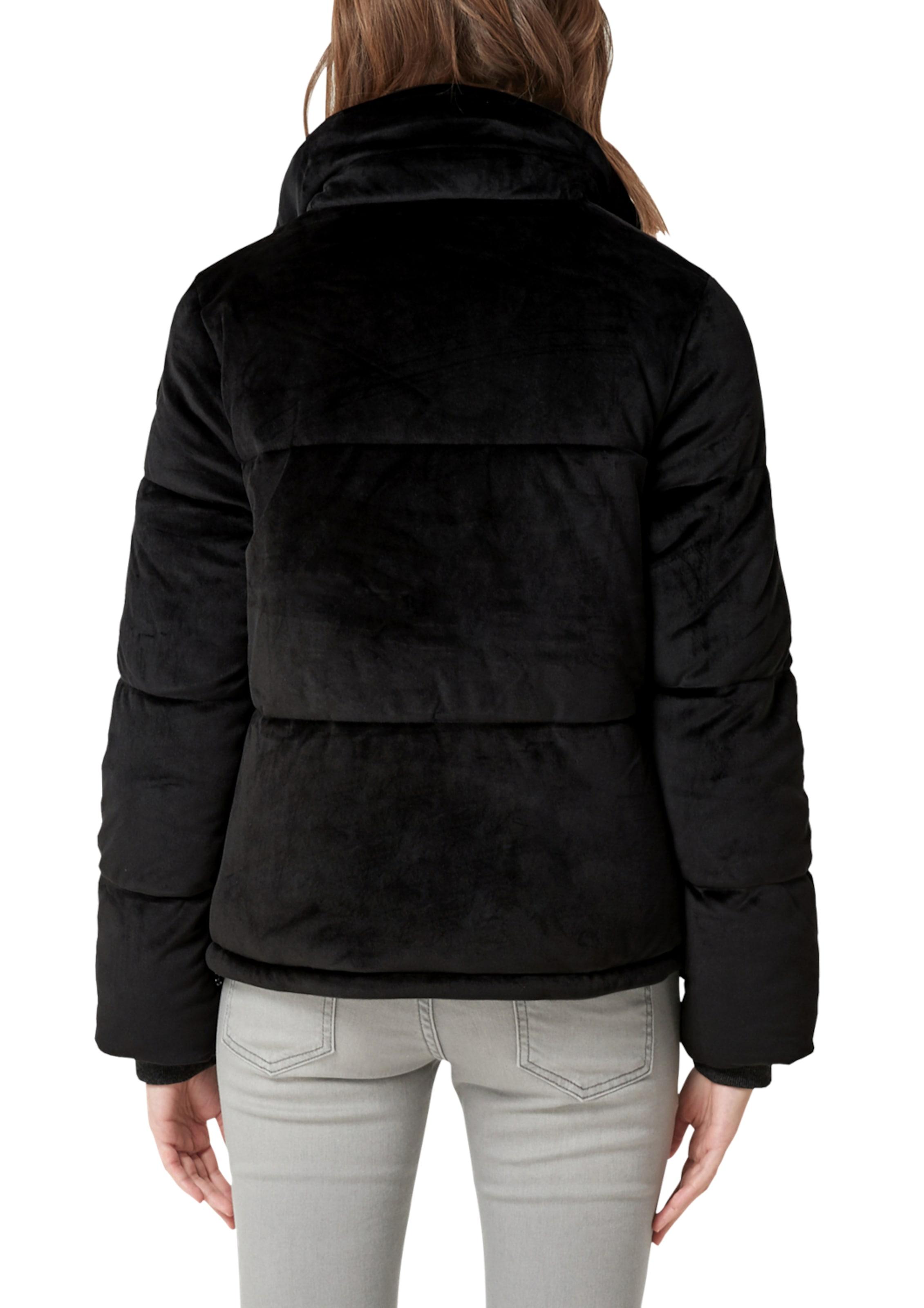 Aus Puffer Samt Jacket Schwarz oliver In S Red Label m8nvNw0