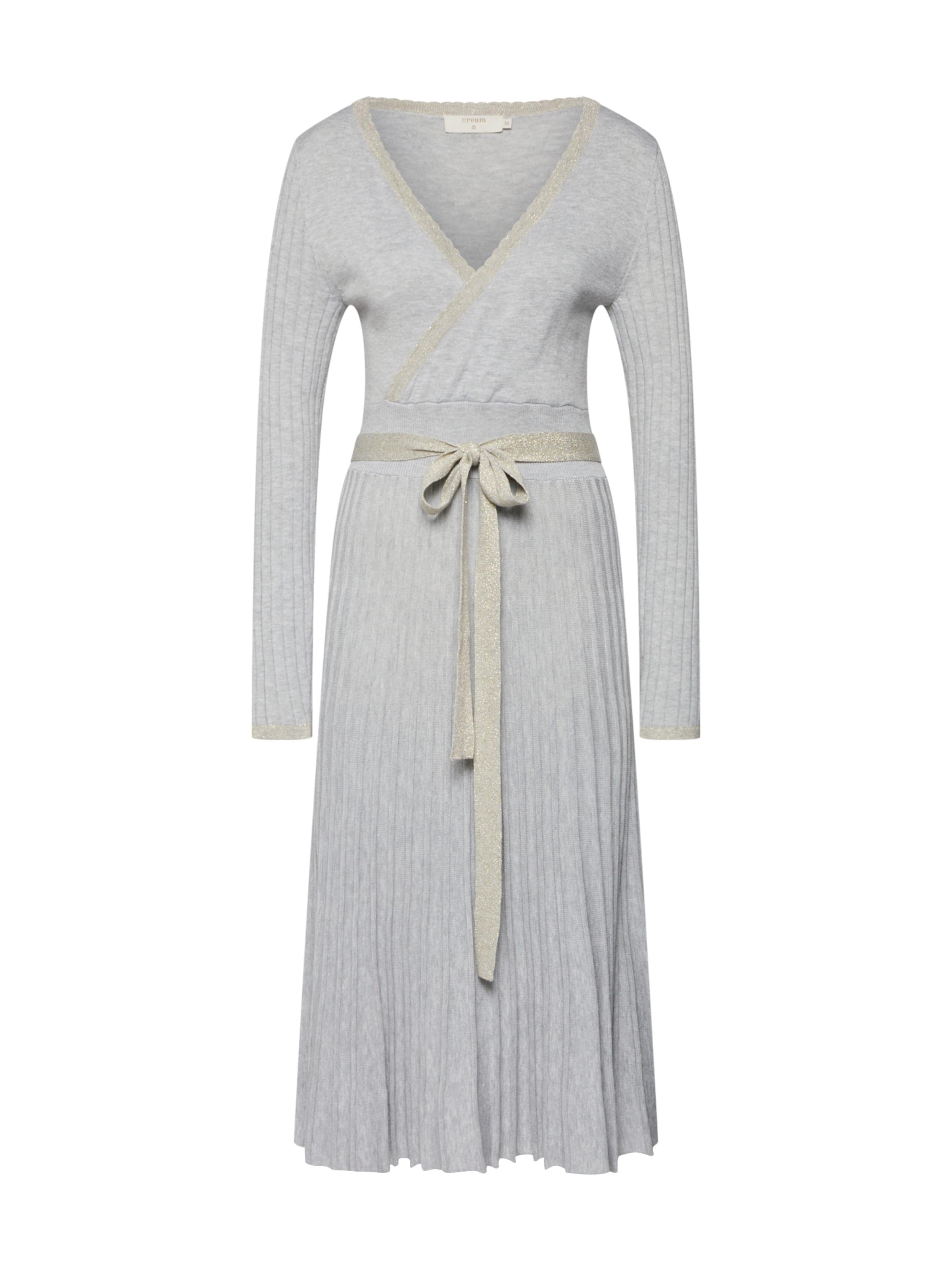 Maille Robes Dress' Clair En Cream 'clary Gris Knit FKT1J3ulc