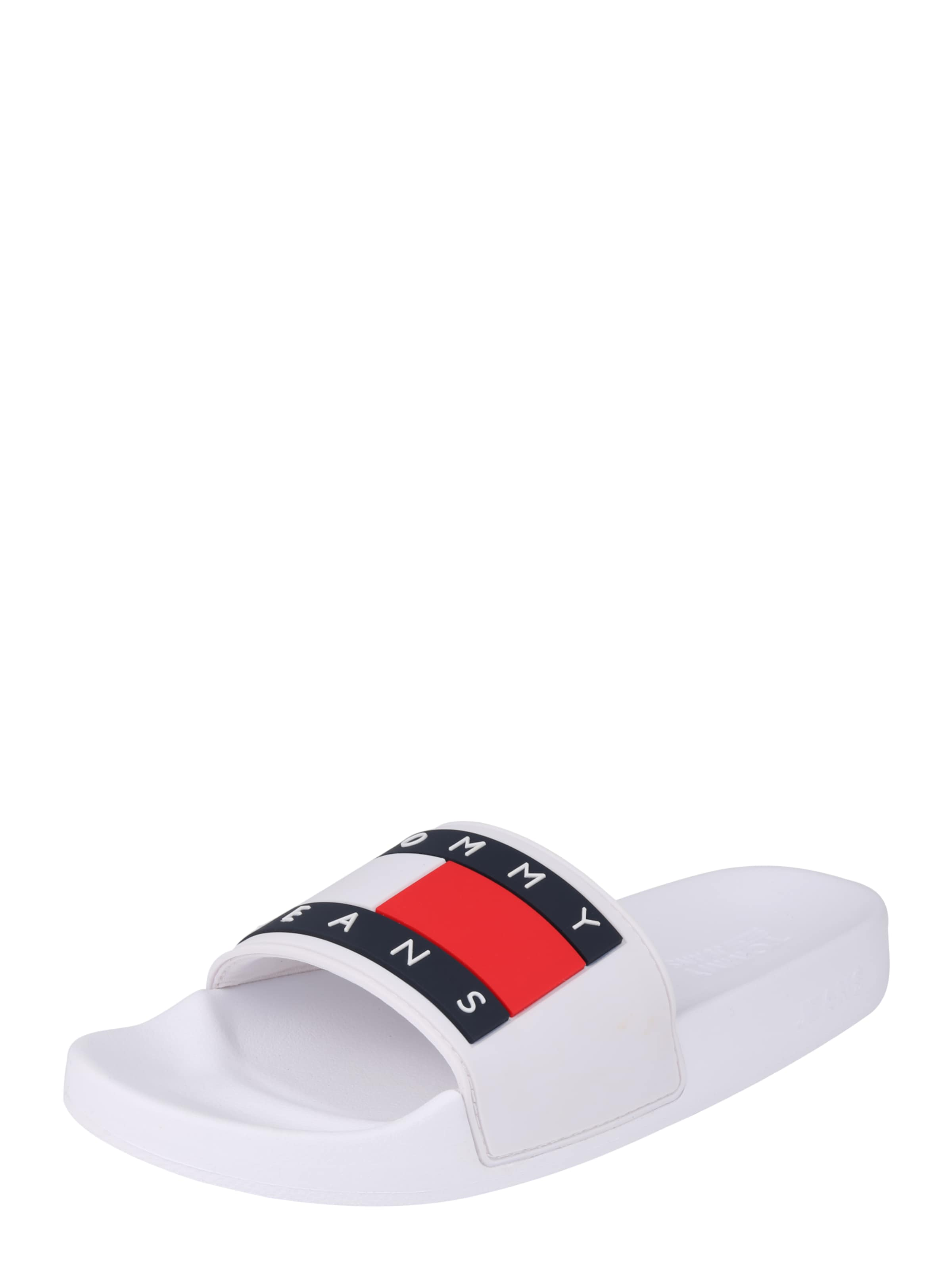Tommy In Weiß NavyRot 'bubble' Jeans Slipper qMUpSzVLG