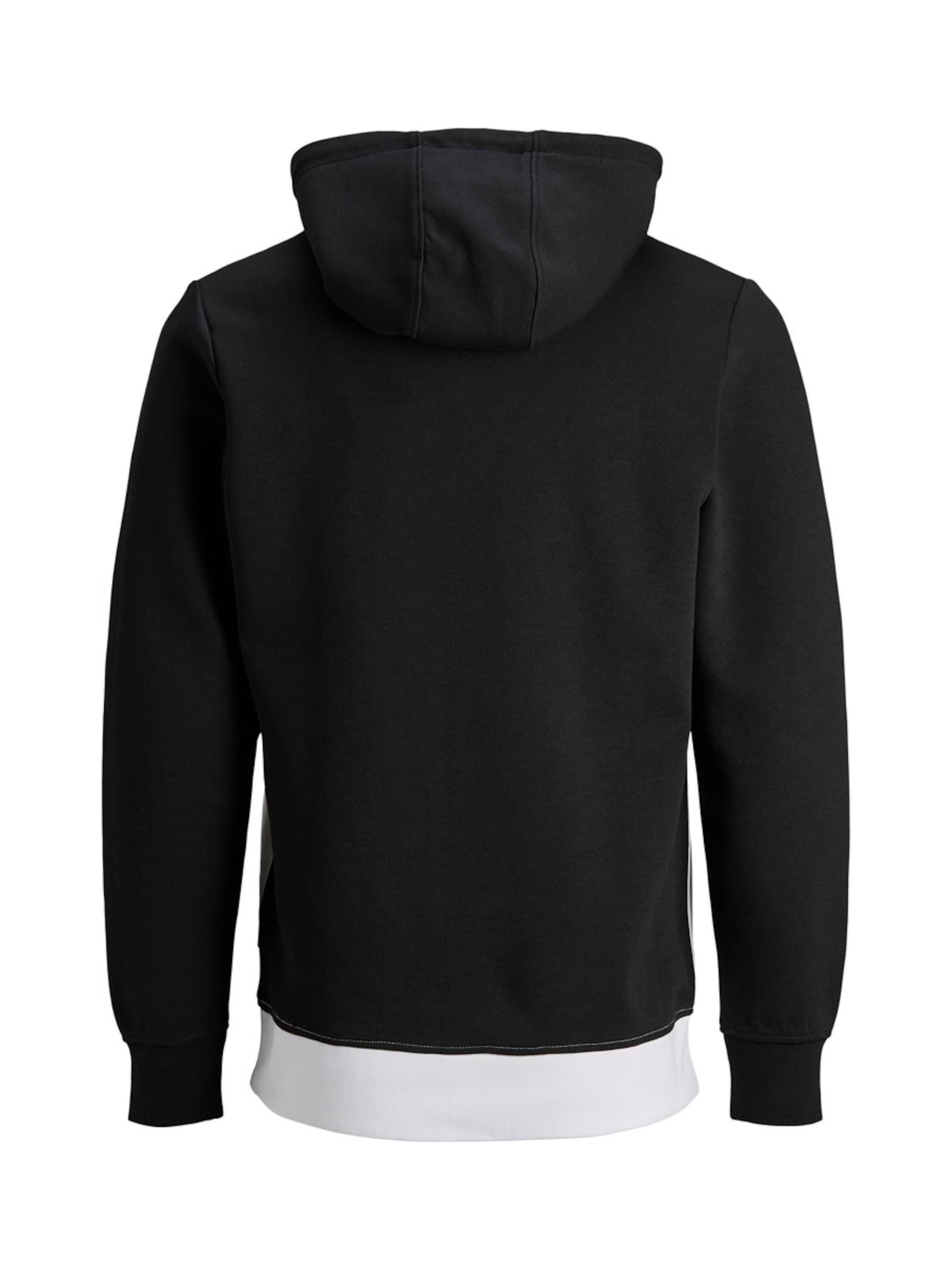 Jackamp; Jones shirt JauneNoir Sweat En Blanc hBtdxosQrC