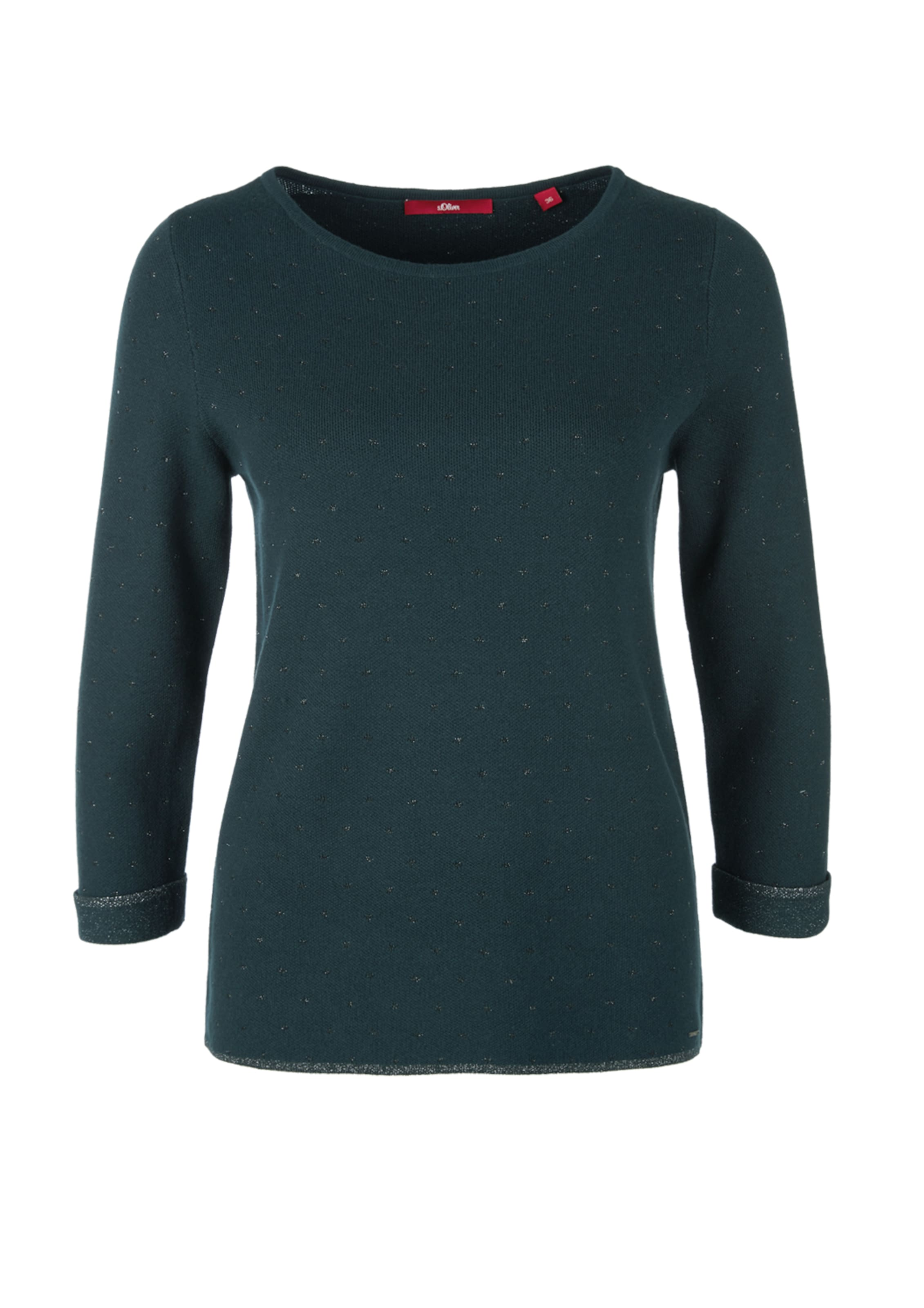 Label oliver In S Red Pullover Petrol eD9IYW2bHE