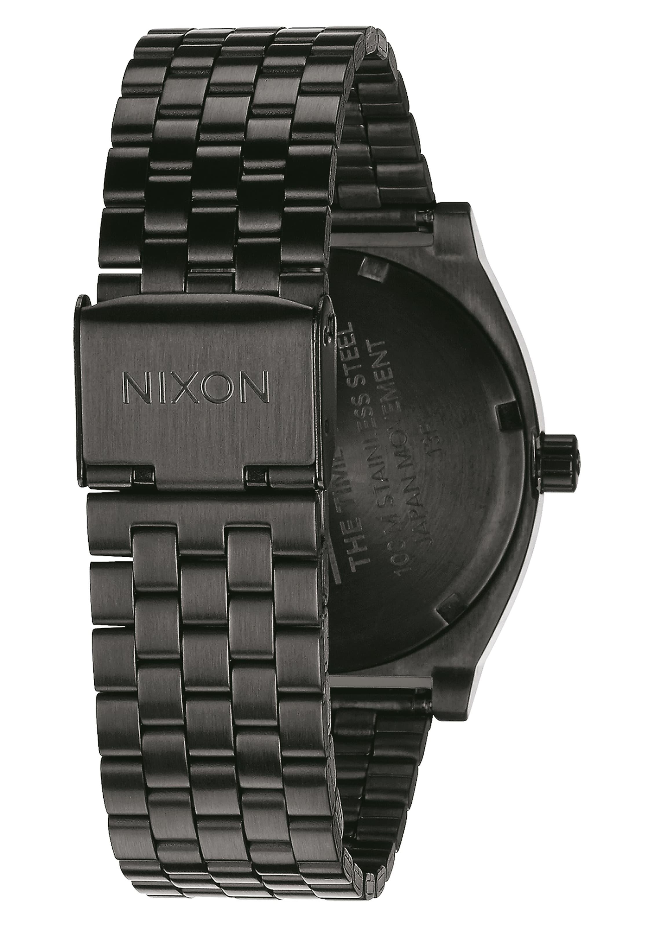 Montre Nixon Argent Teller' En Affichage 'time Analogique À y0Ow8nvmN