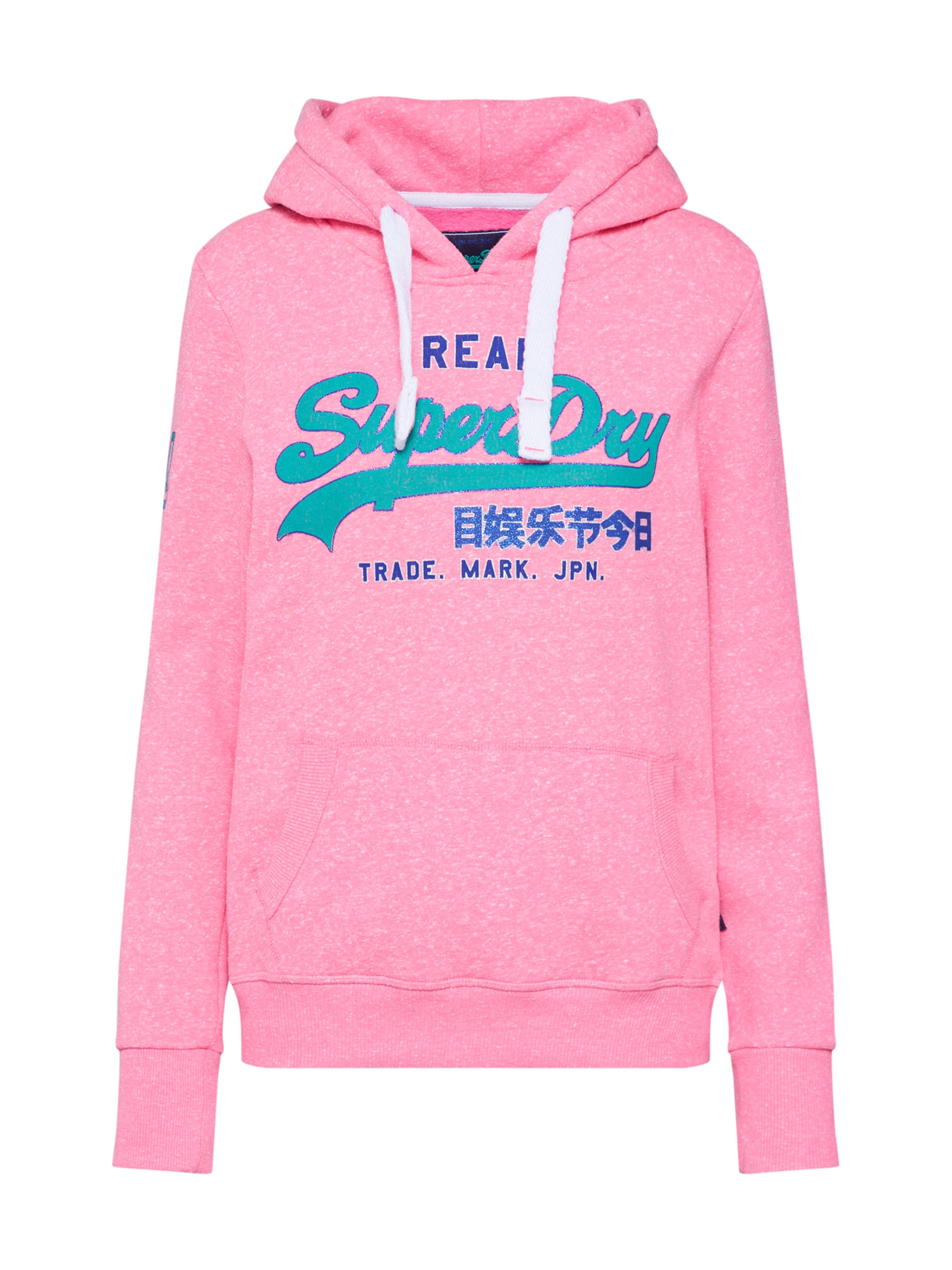 Sweat Rose En BleuPétrole shirt Superdry WQxordCBe