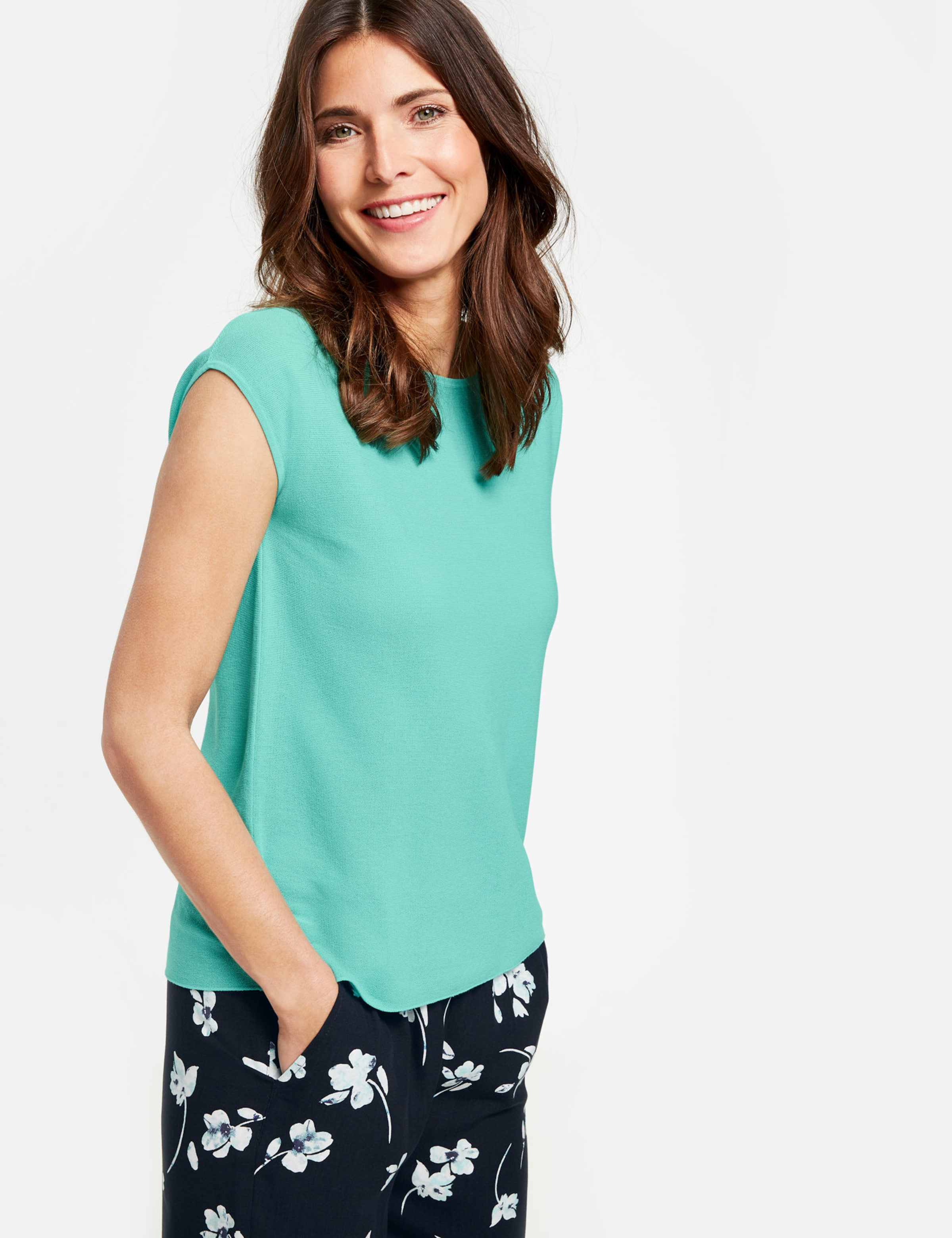 Pullover T��rkis Gerry In Weber qSUzVGMp