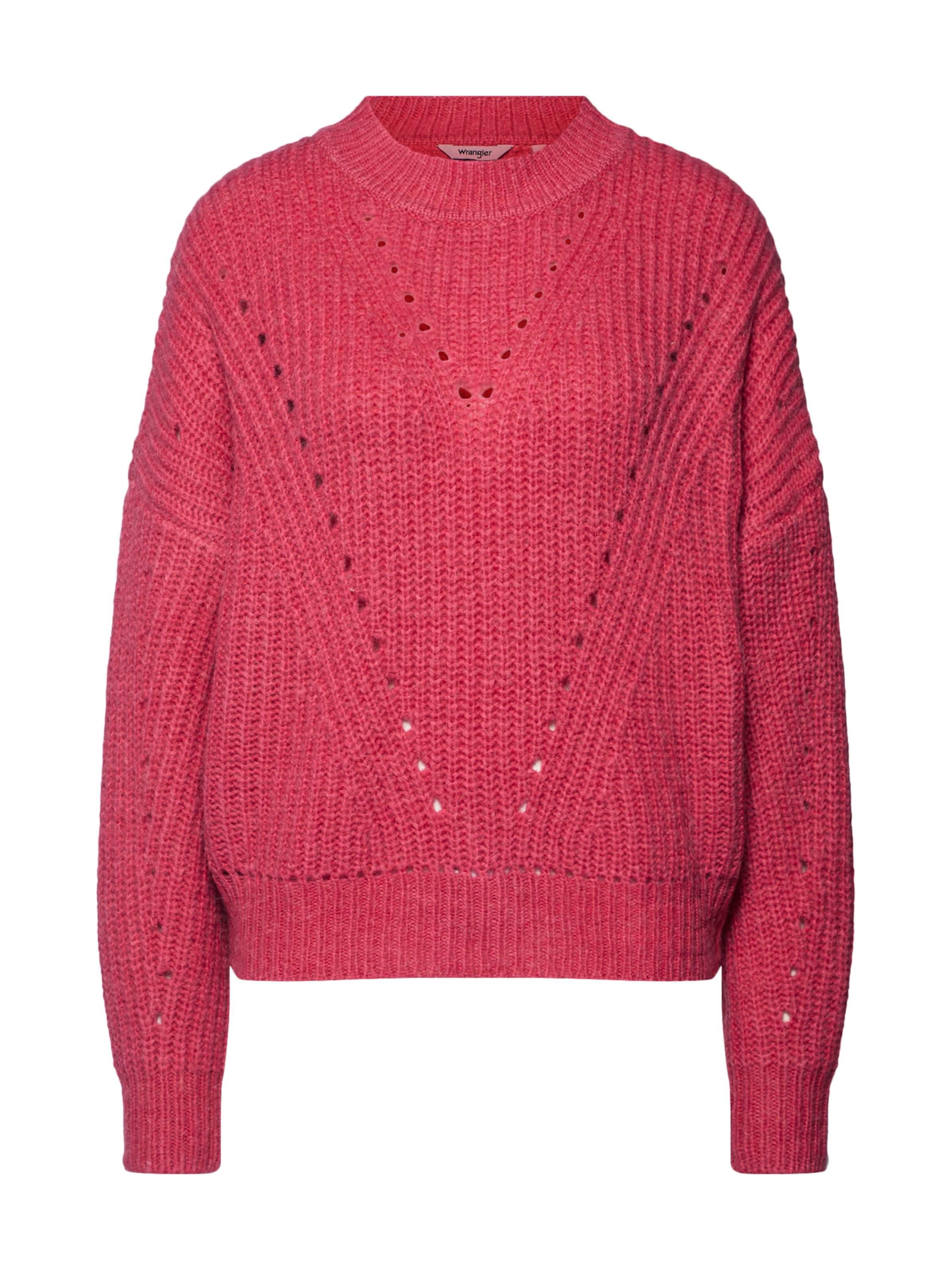 Pullover Himbeer Wrangler In Wrangler Pullover In zSMqUVp