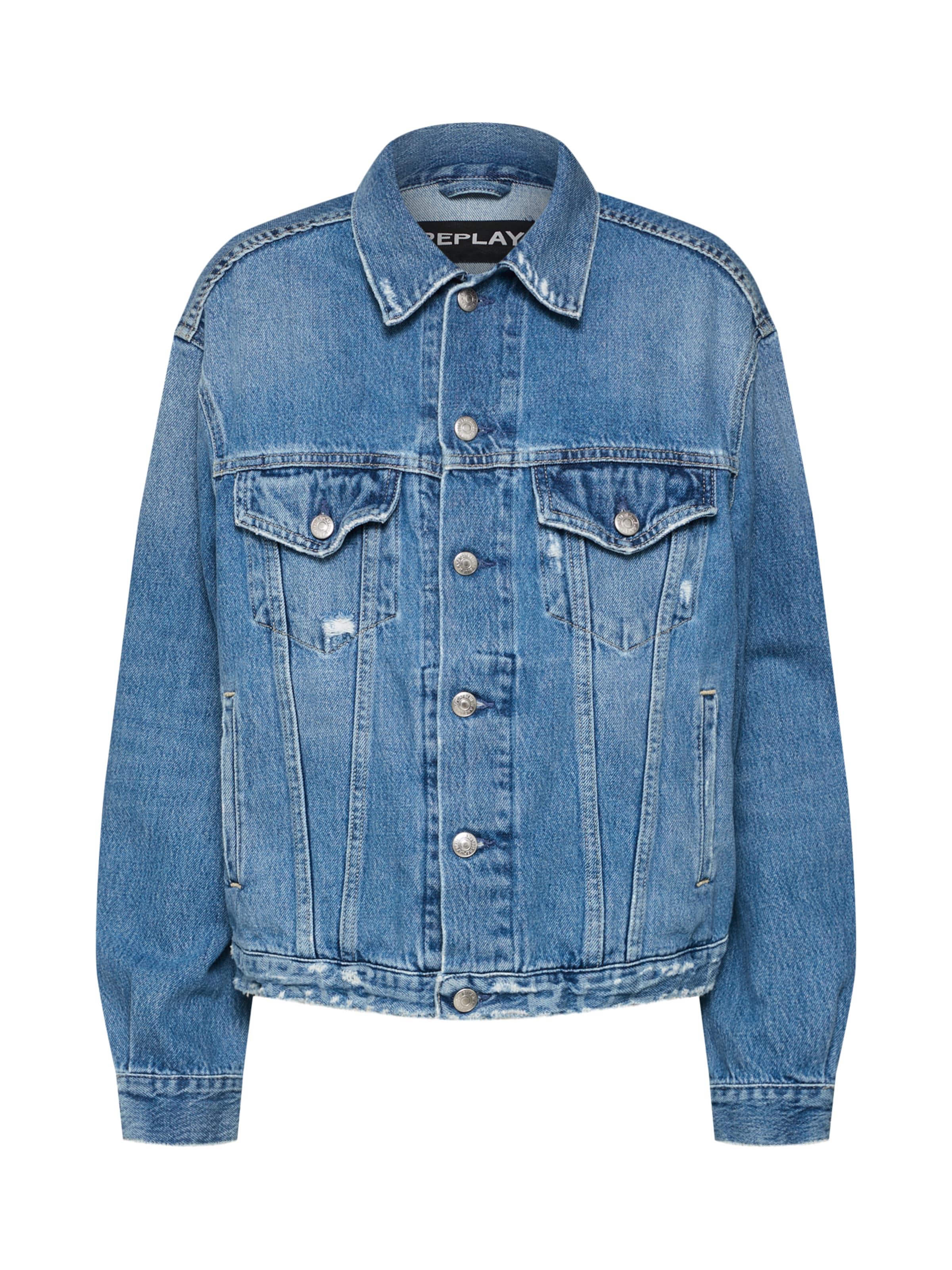 Replay Jeansjacke Blue Jeansjacke Blue Denim Blue Replay In Replay Jeansjacke In In Denim k0OX8NPnw
