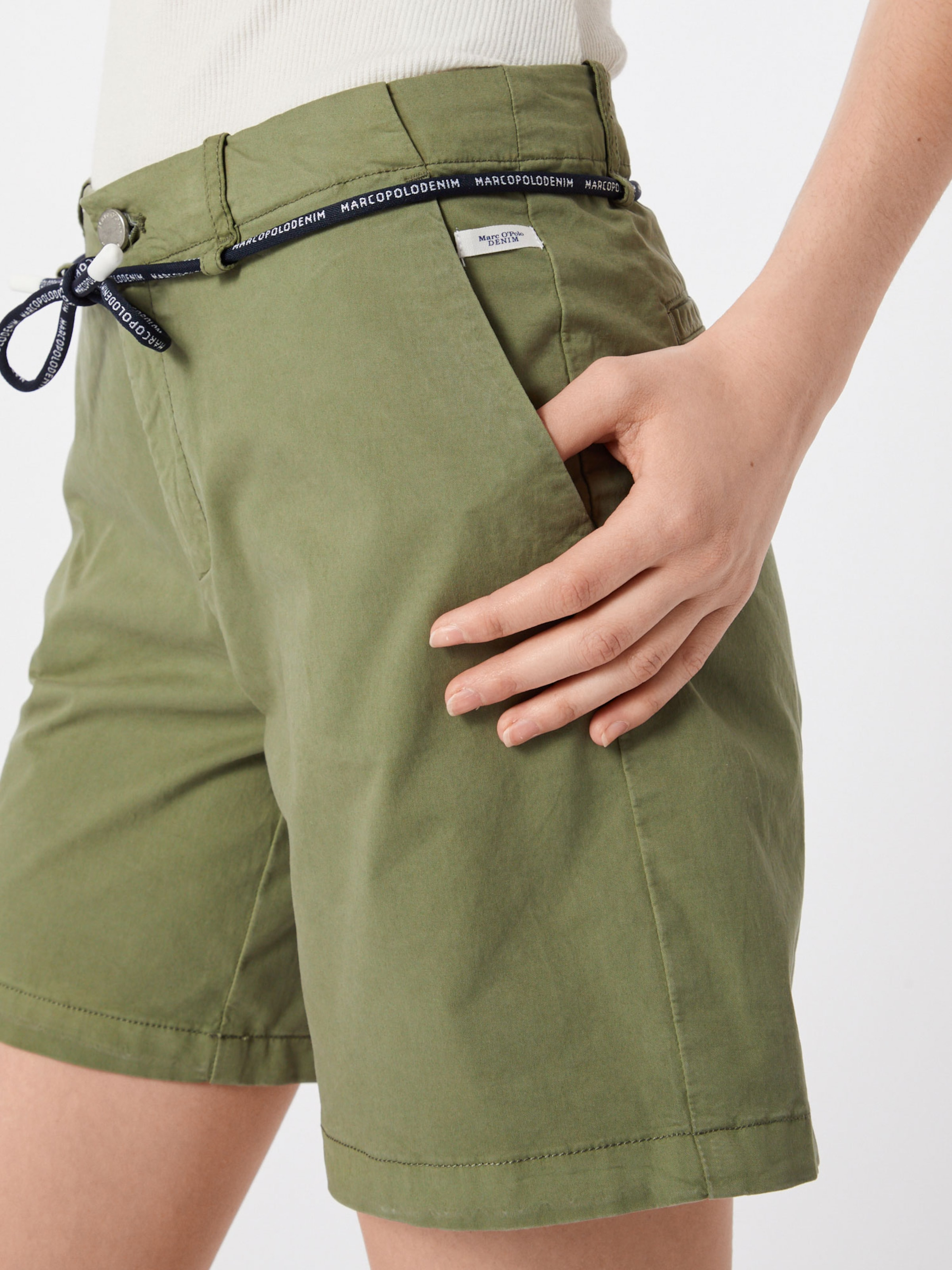 Marc Pantalon Denim Chino Olive O'polo En uZikPX