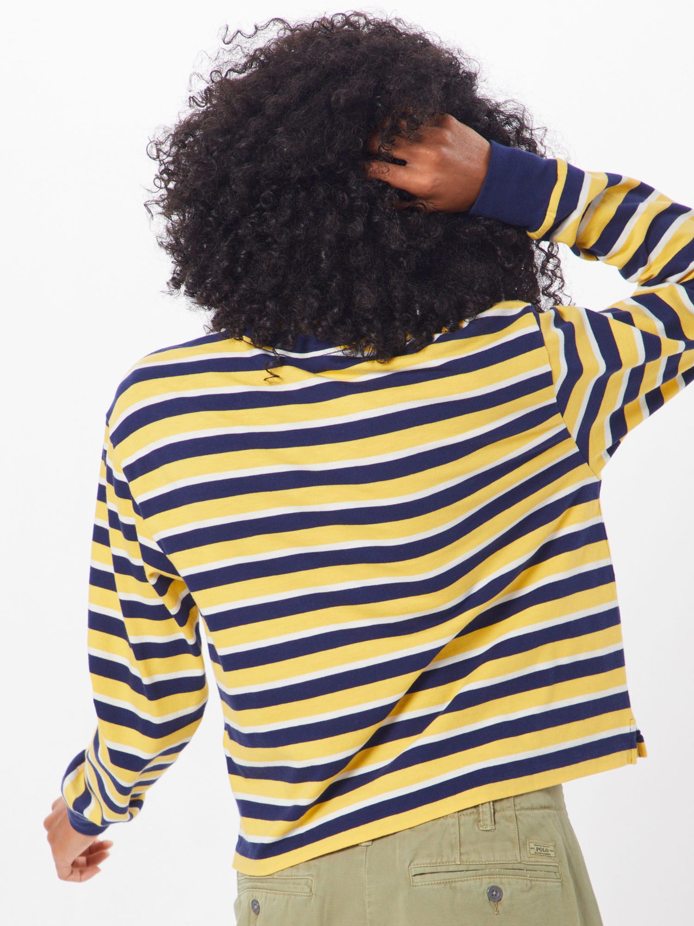 Polo En Ralph shirt Lauren T BleuRouge b7gY6yvf