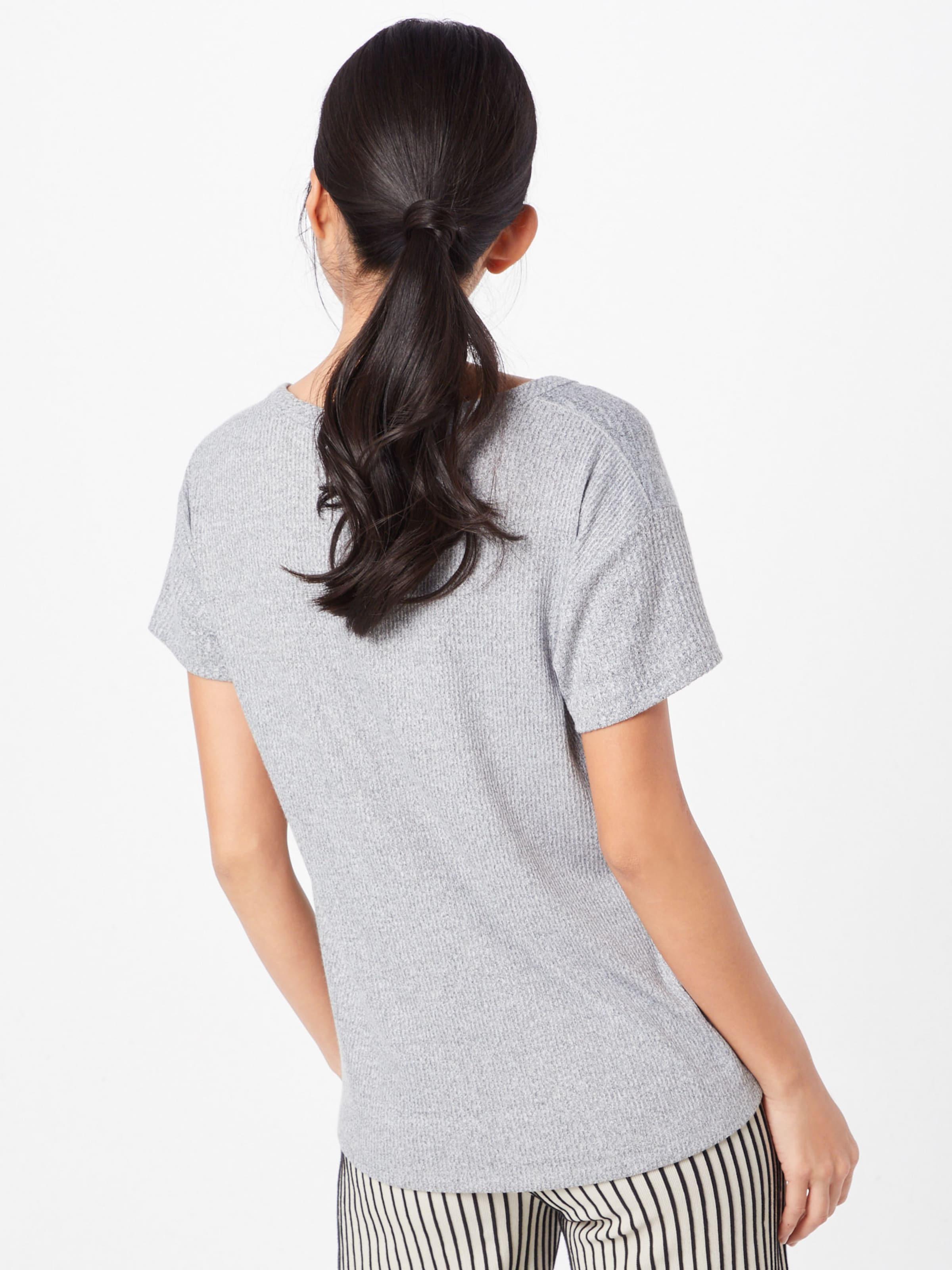 Bone T Chiné shirt 'clara' En Gris Ragamp; srhQCtd