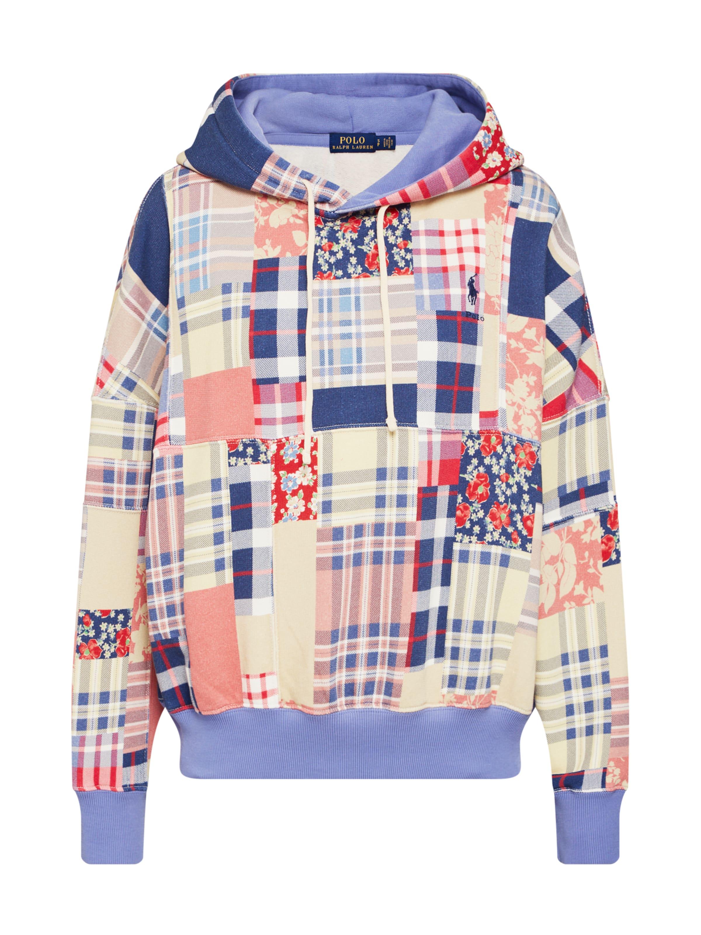 Sweat 'rlxd shirt Ralph Lauren knit' En Couleurs long Ptch Mélange De Hd Polo Sleeve FKJcl1