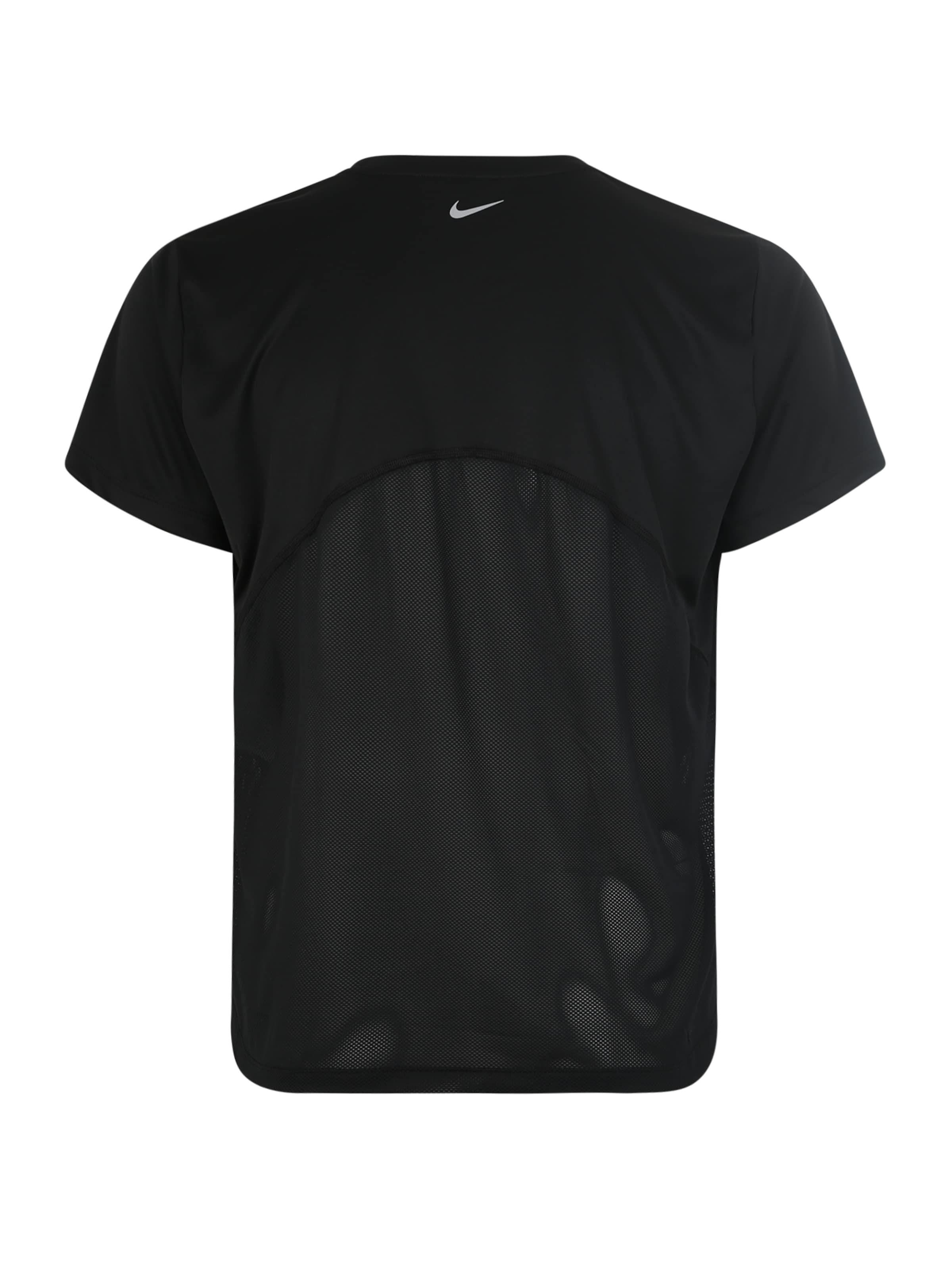 Sport SchwarzSilber shirt 'nike In Nike Miler' uKcF5lJ31T