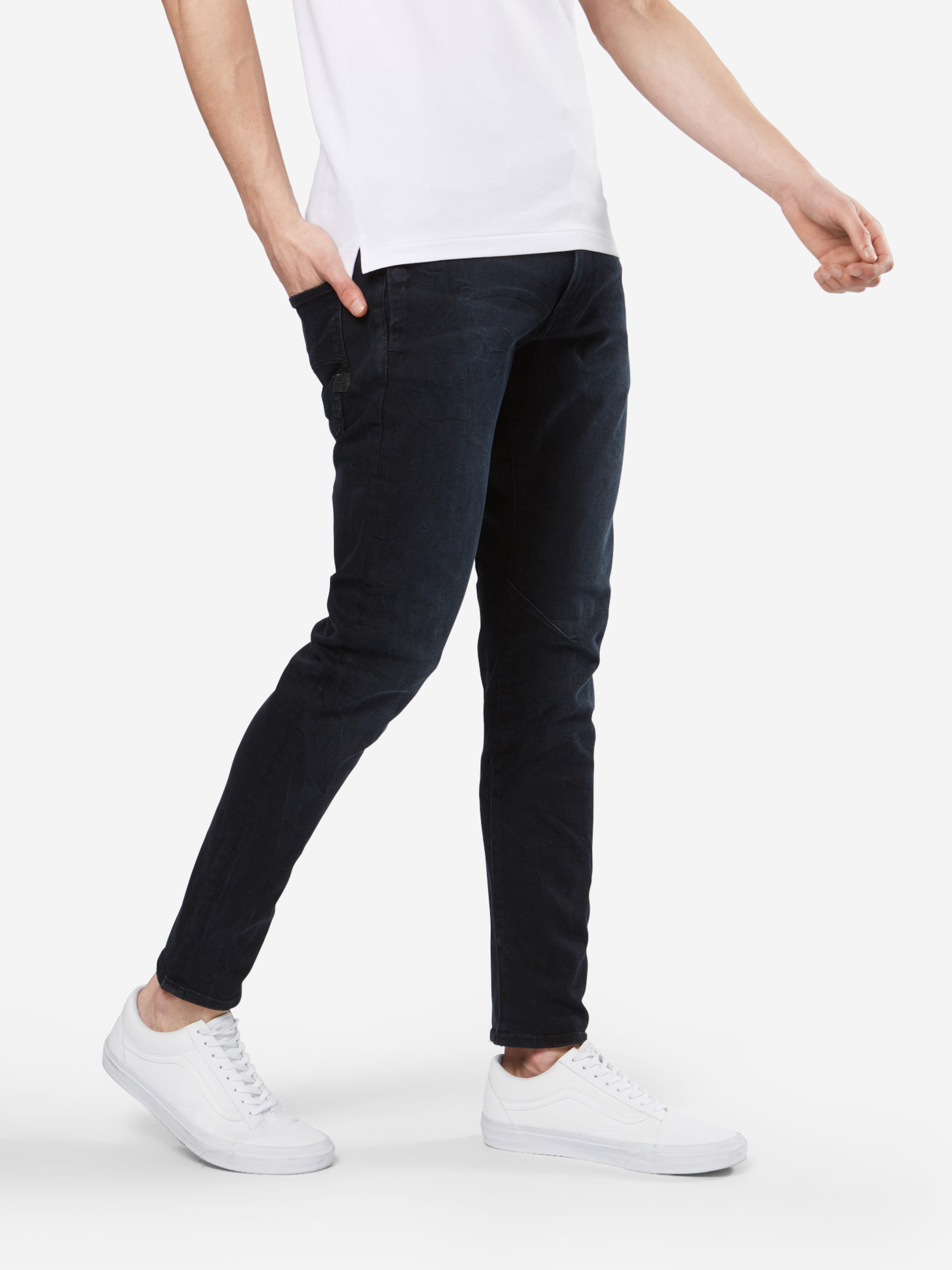 star 3d' G Denim staq En Bleu 'd Raw Jean NO8n0wZPkX