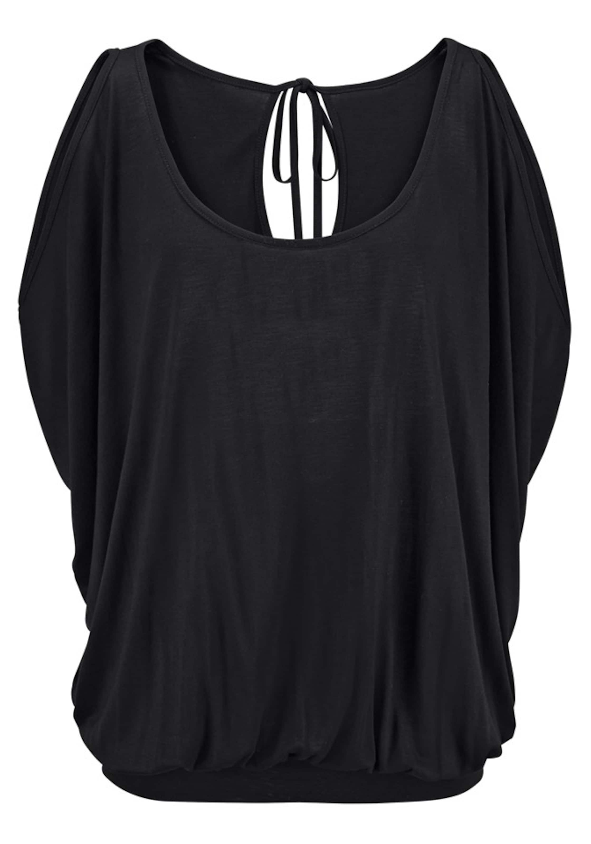 Lascana T Noir Lascana En shirt En T shirt mvn8NO0w