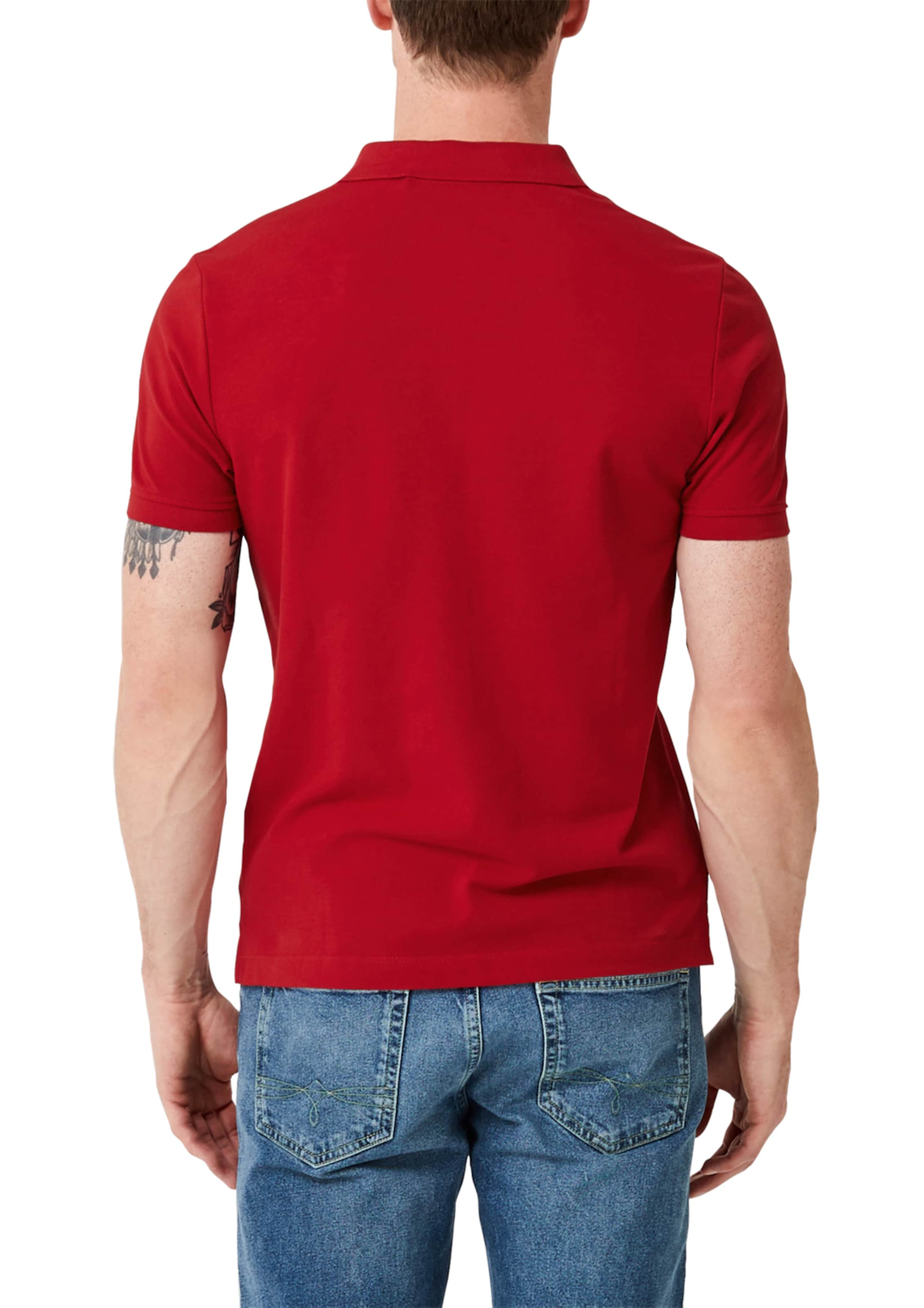 Poloshirt Rot Red S Label In oliver 3c54ARjqL