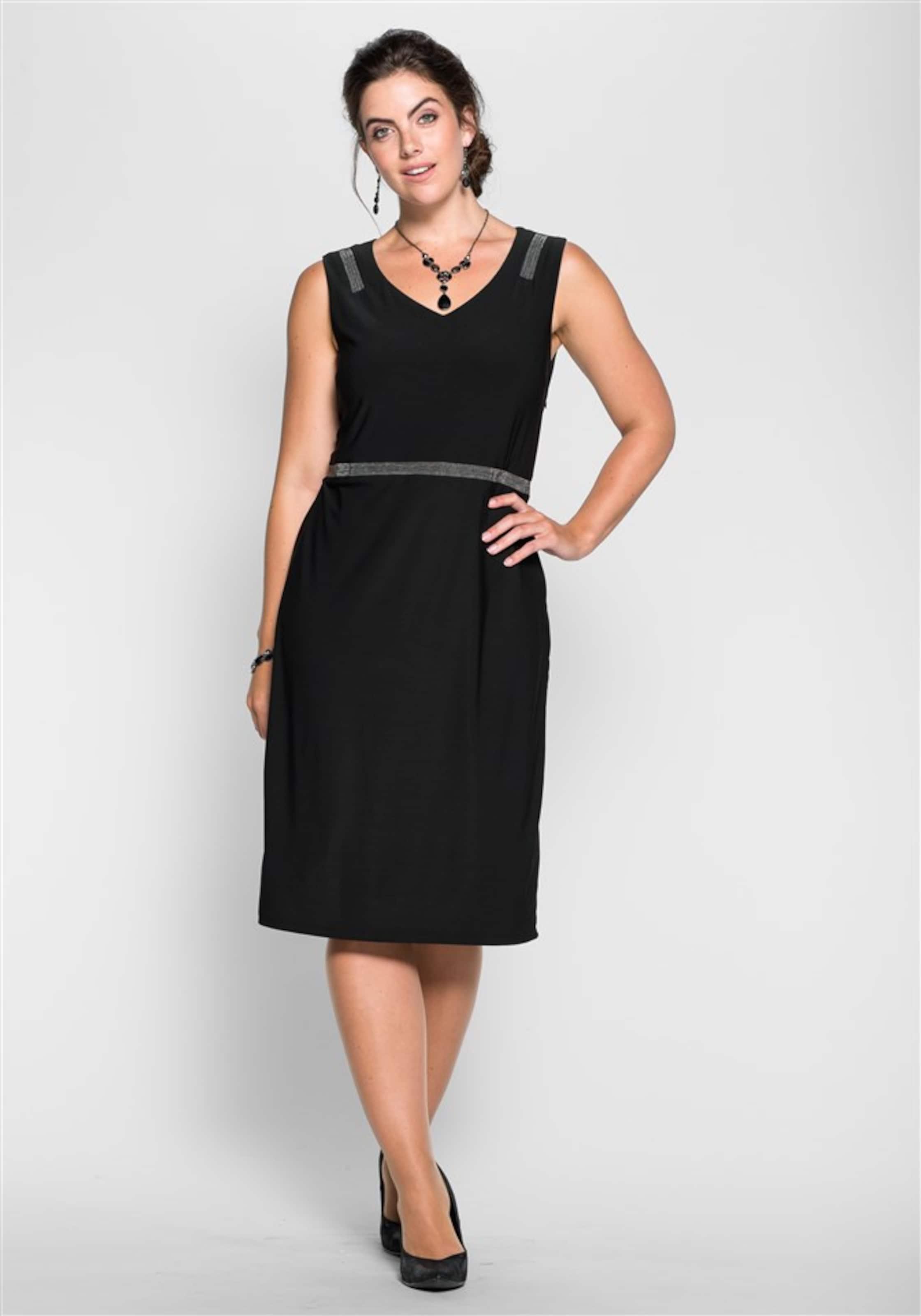 In Sheego Style In Kleid Sheego Style Kleid Schwarz In Schwarz Style Sheego Kleid eE29IDWHYb