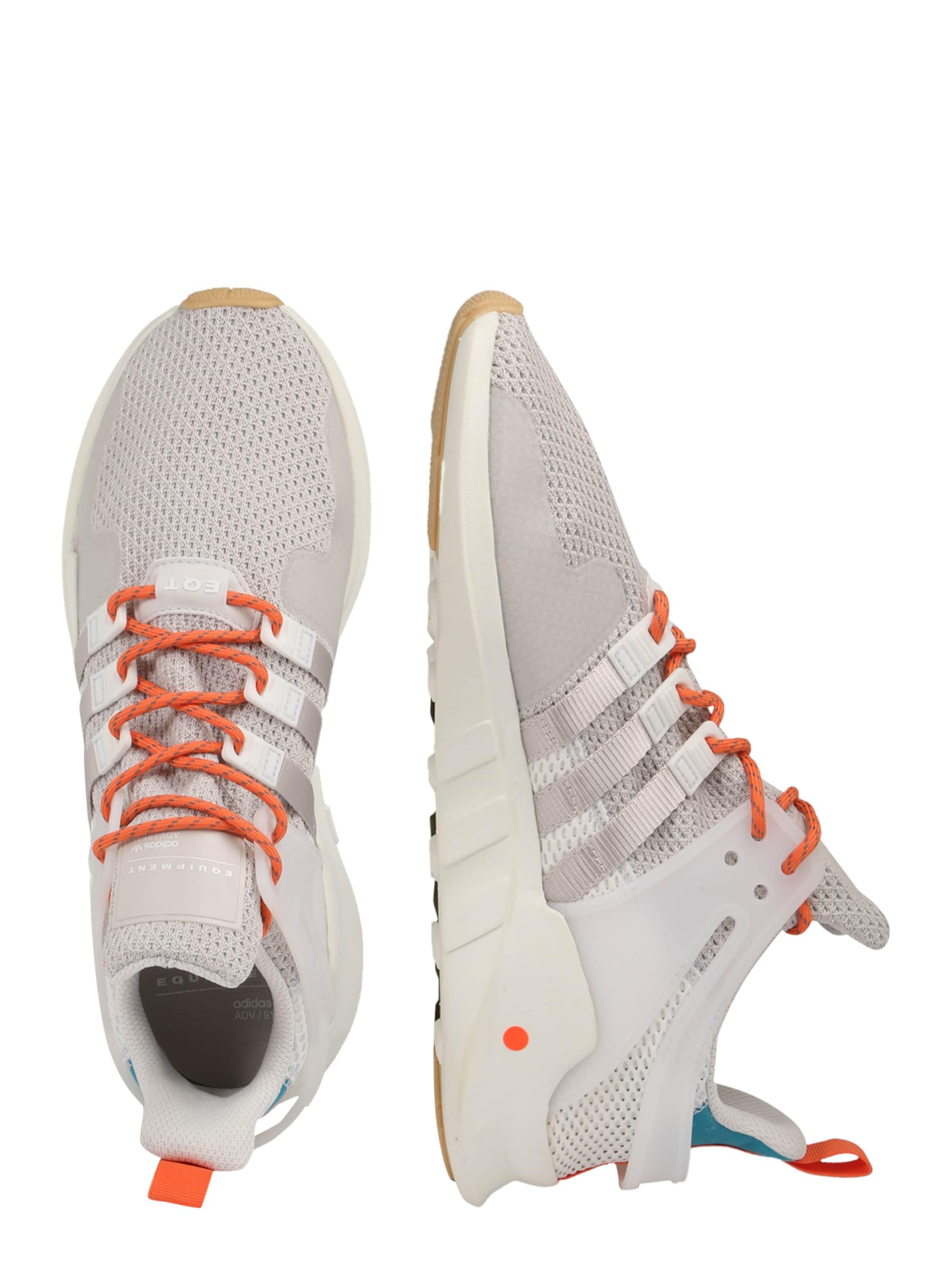 Support Sneaker Originals Adidas HellgrauHellorange 'eqt In Weiß Adv' 0mNnwv8