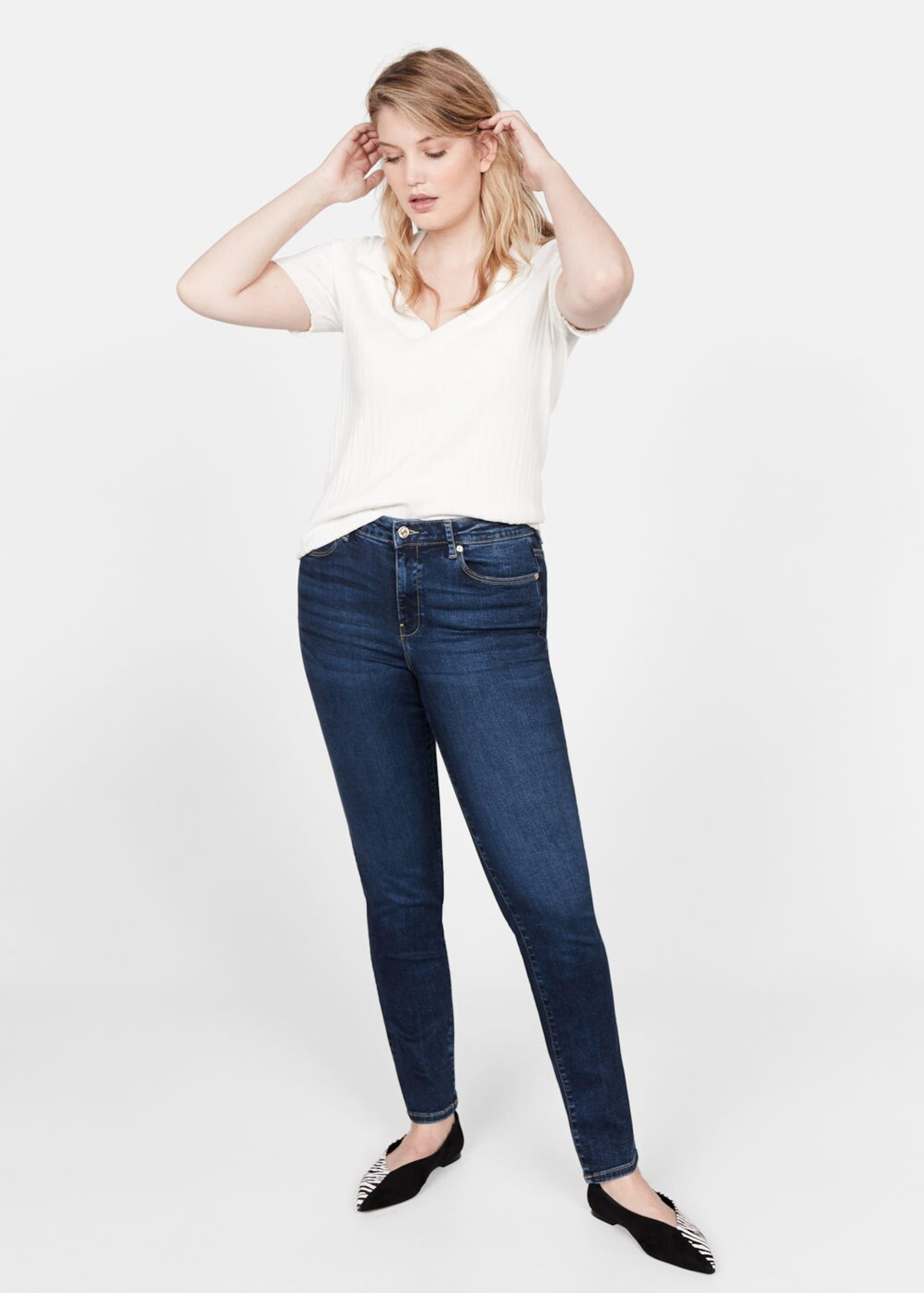 By Mango Dunkelblau Violeta Jeans In 'valentin' N80Onwvm