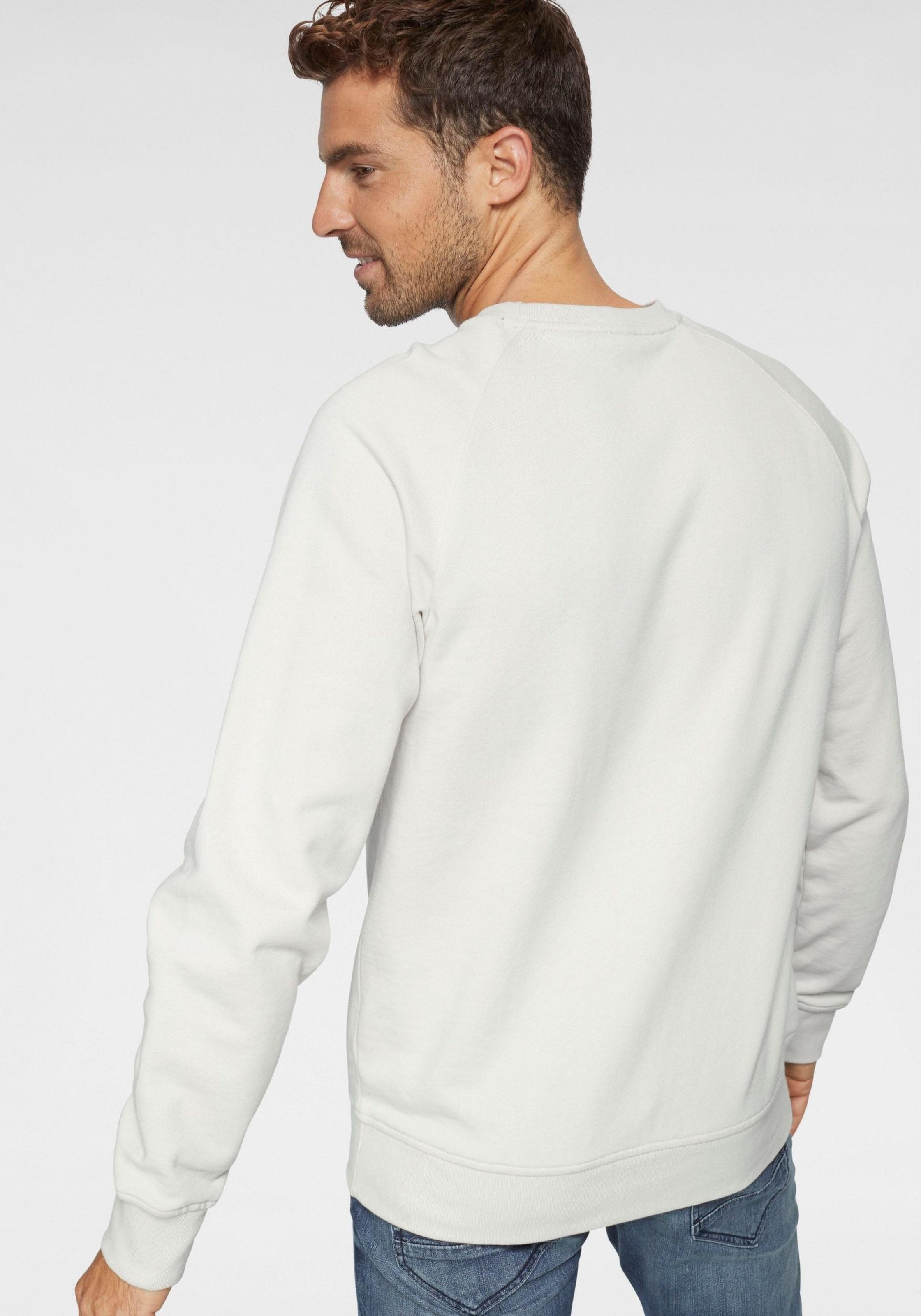 Sweatshirt Label Weiß Red In S oliver OuPkXZi